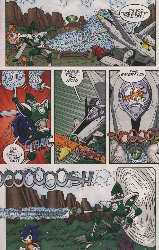 Read online Sonic X comic -  Issue #28 - 28