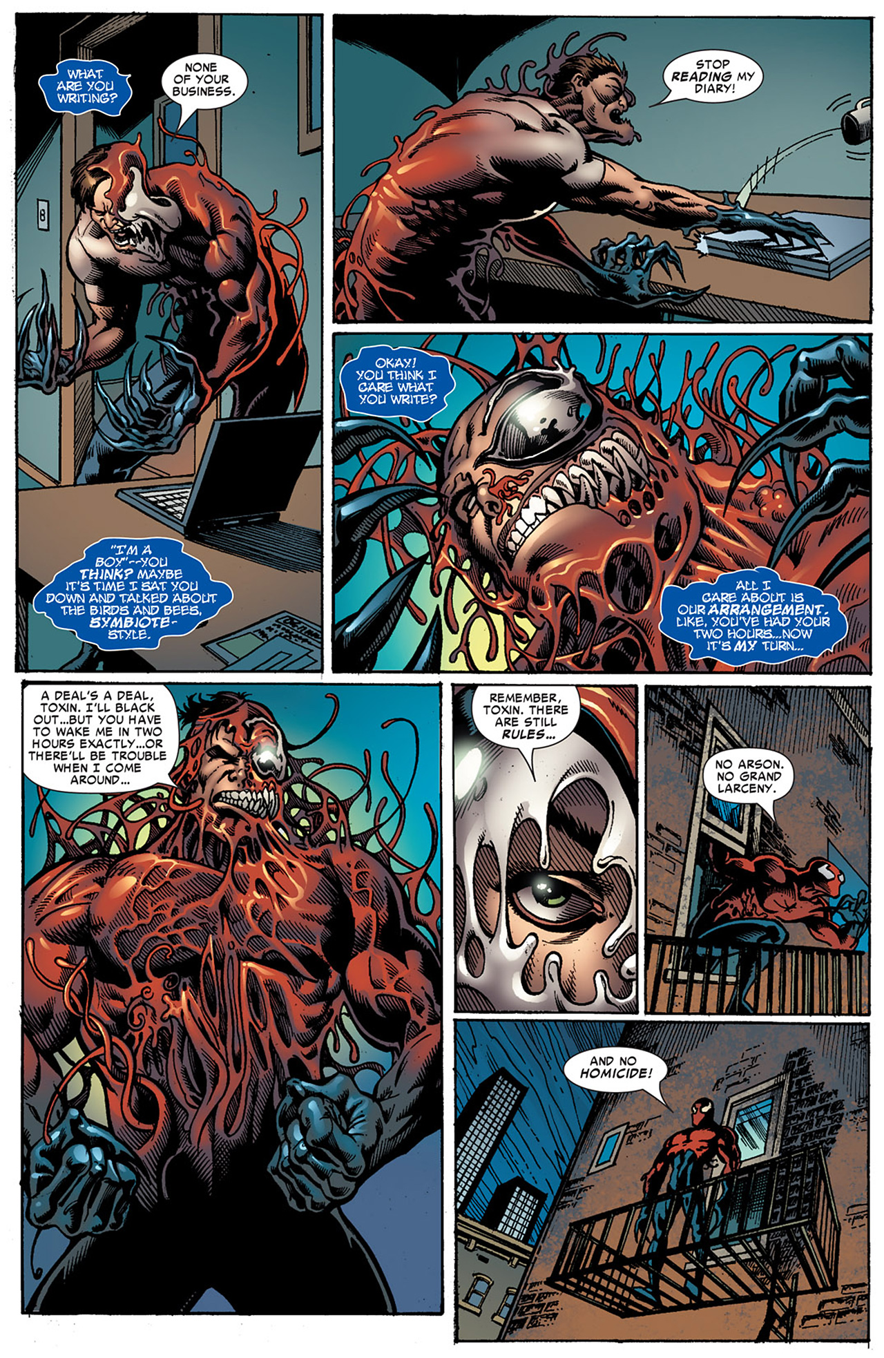 Read online Toxin comic -  Issue #5 - 3
