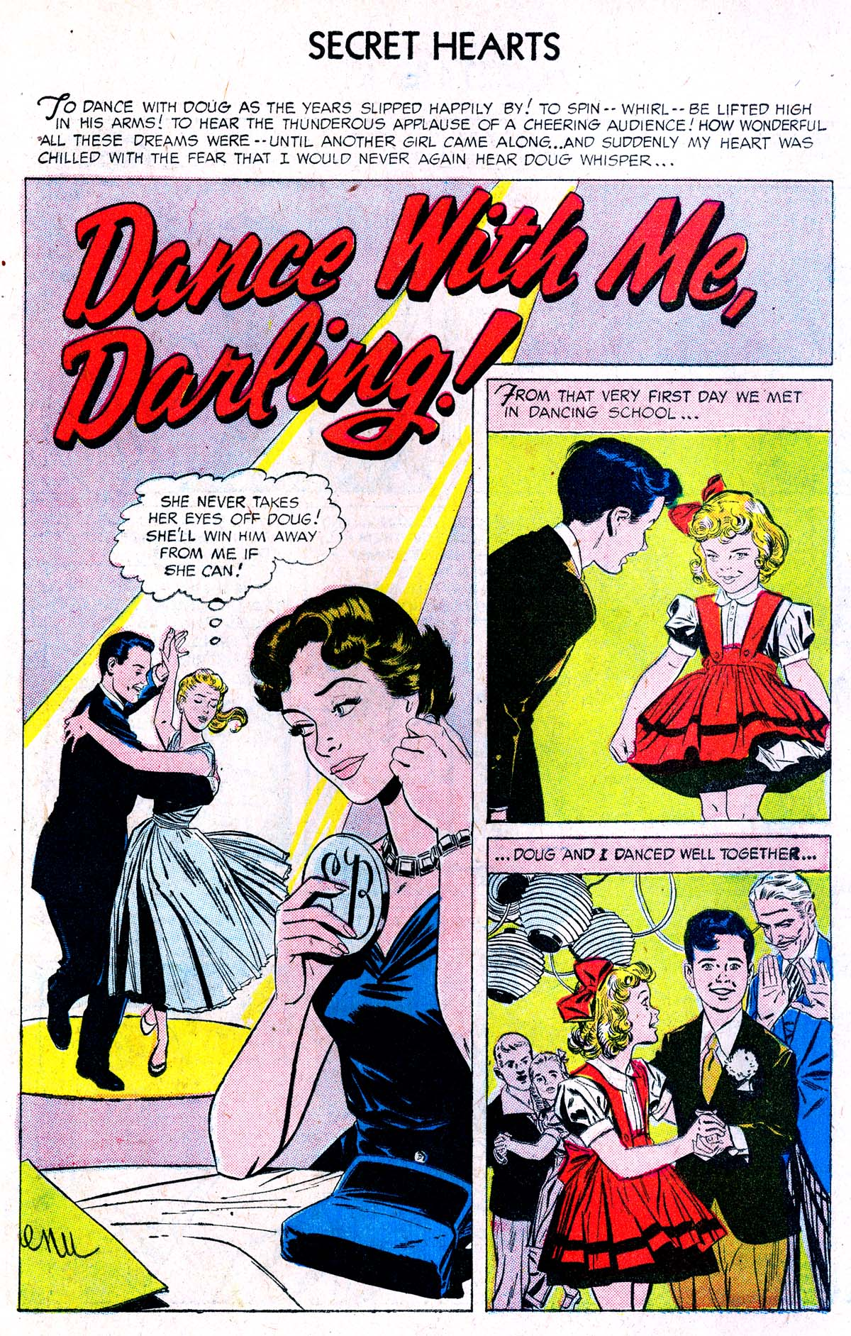 Read online Secret Hearts comic -  Issue #38 - 10