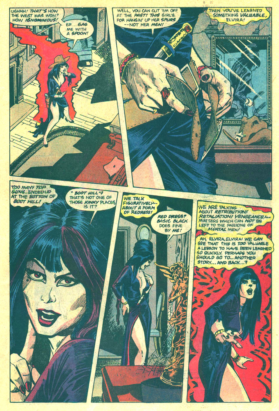 Elvira's House of Mystery Issue #3 #4 - English 15