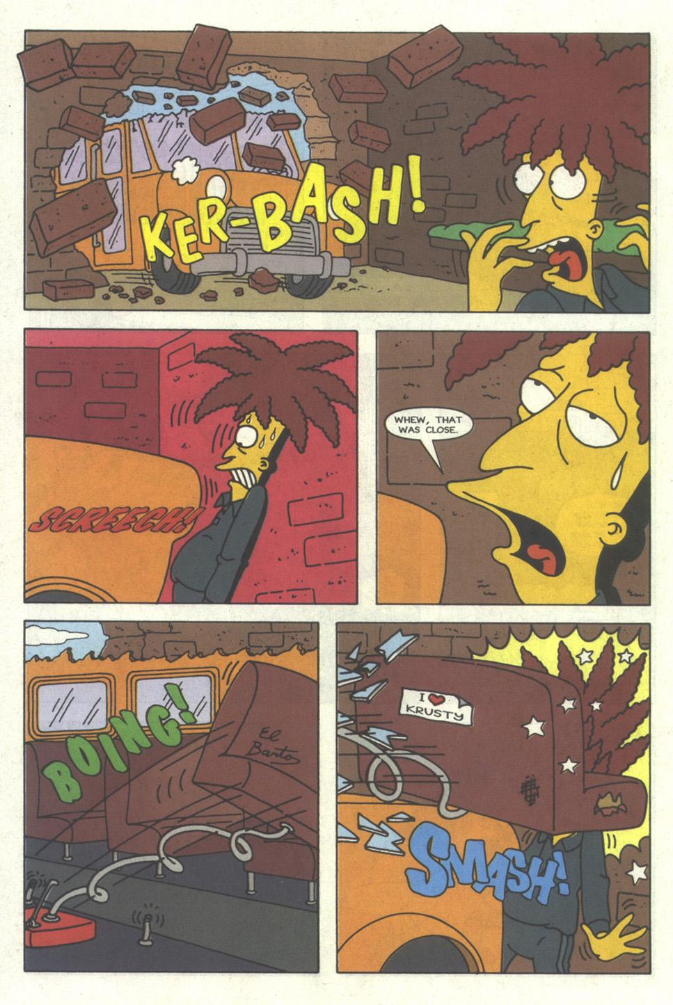 Read online Simpsons Comics comic -  Issue #26 - 21