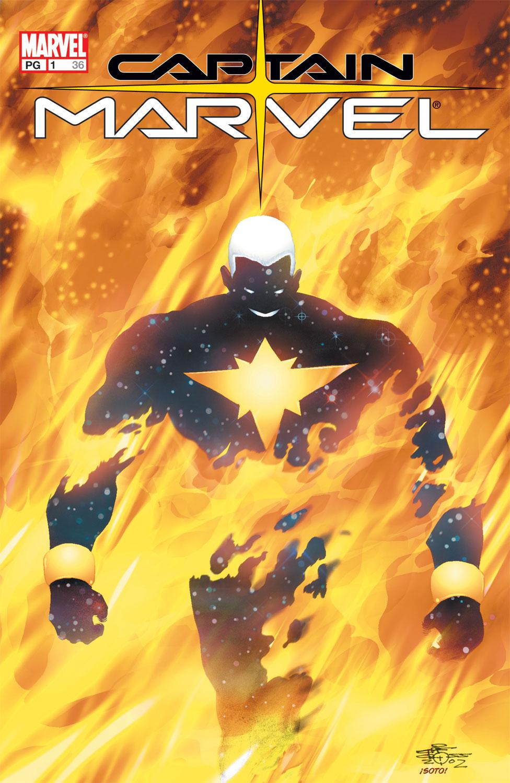 Captain Marvel (2002) Issue #1 #1 - English 1