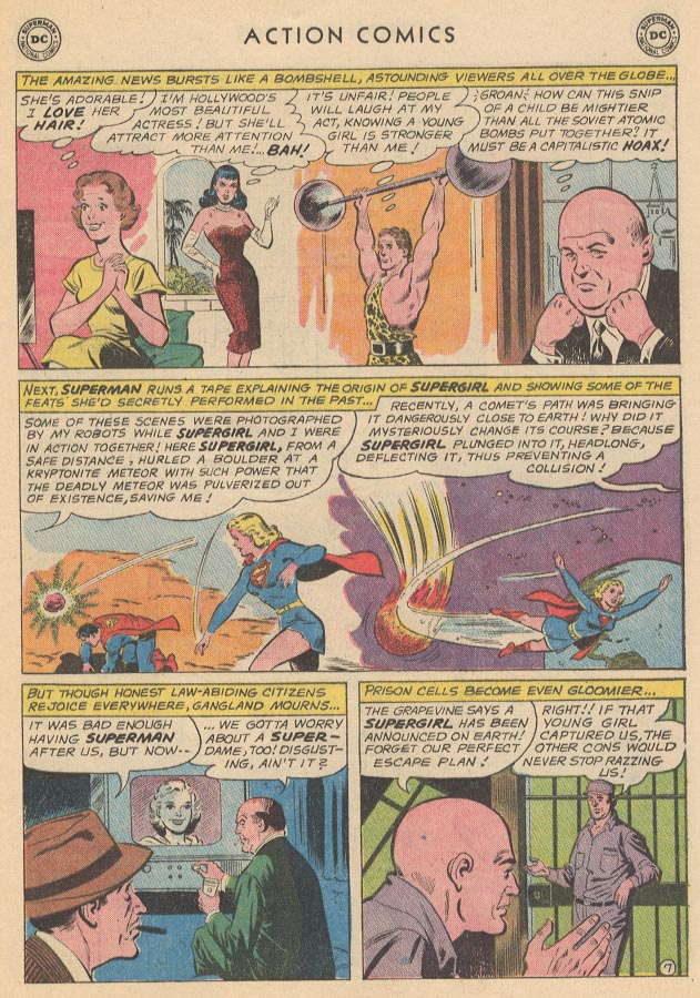 Read online Action Comics (1938) comic -  Issue #285 - 9
