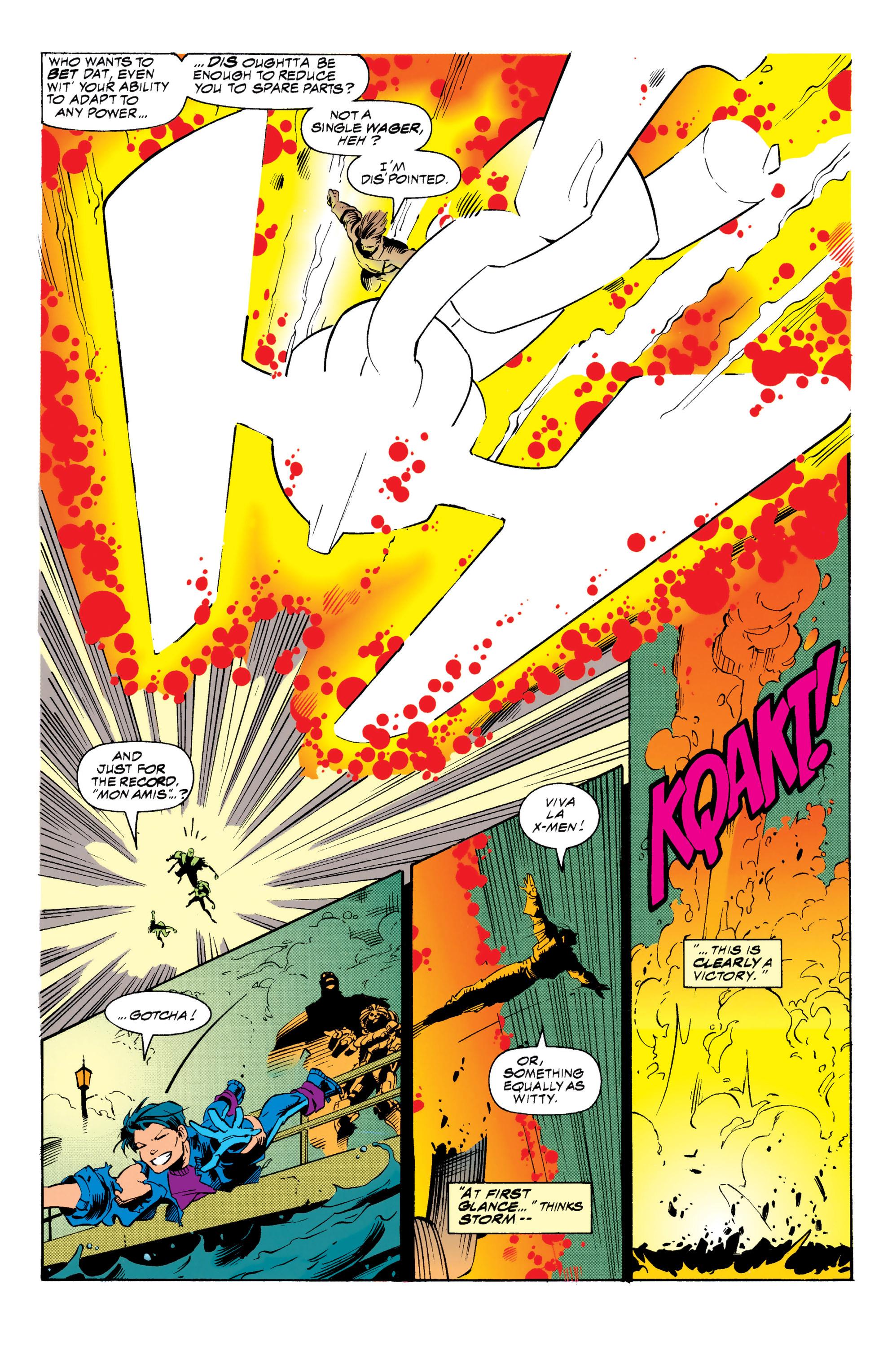 Read online Uncanny X-Men (1963) comic -  Issue #313 - 18