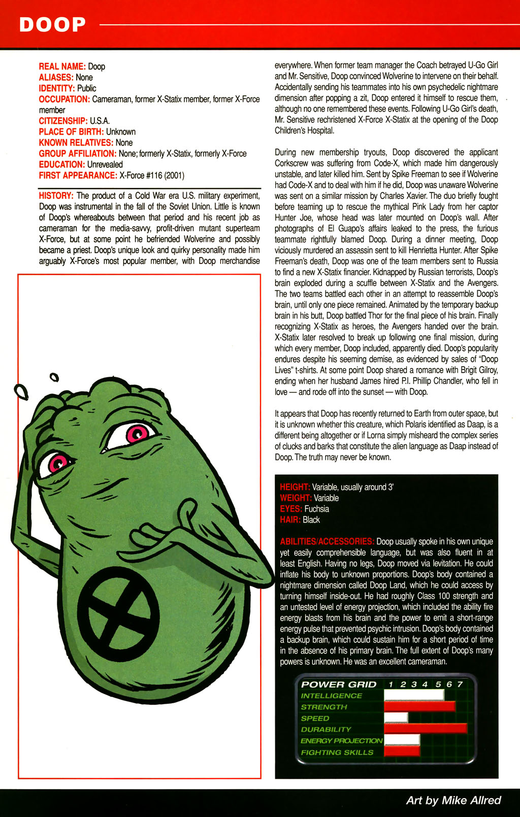 Read online All-New Official Handbook of the Marvel Universe A to Z comic -  Issue #3 - 60