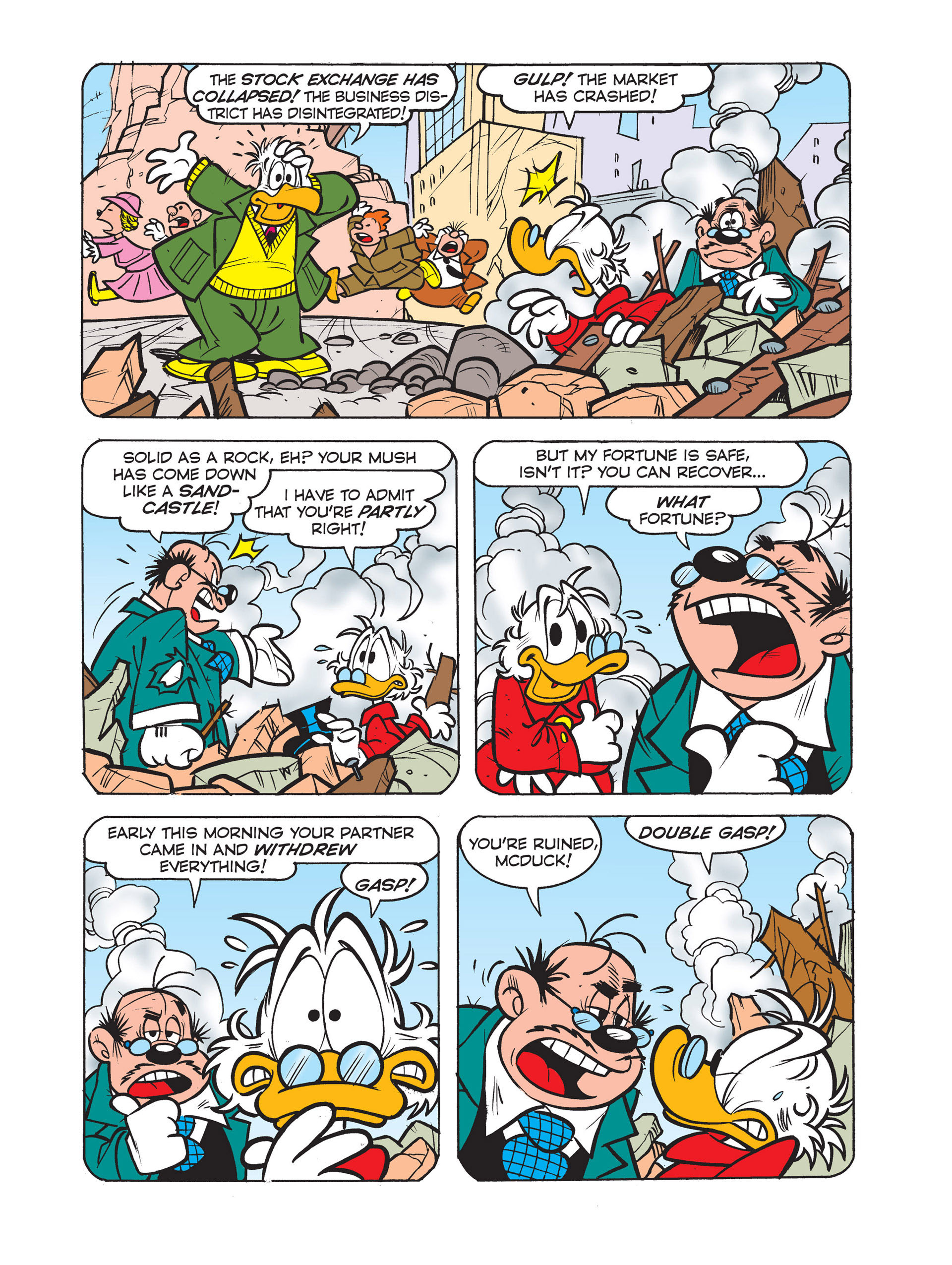 Read online All of Scrooge McDuck's Millions comic -  Issue #4 - 12