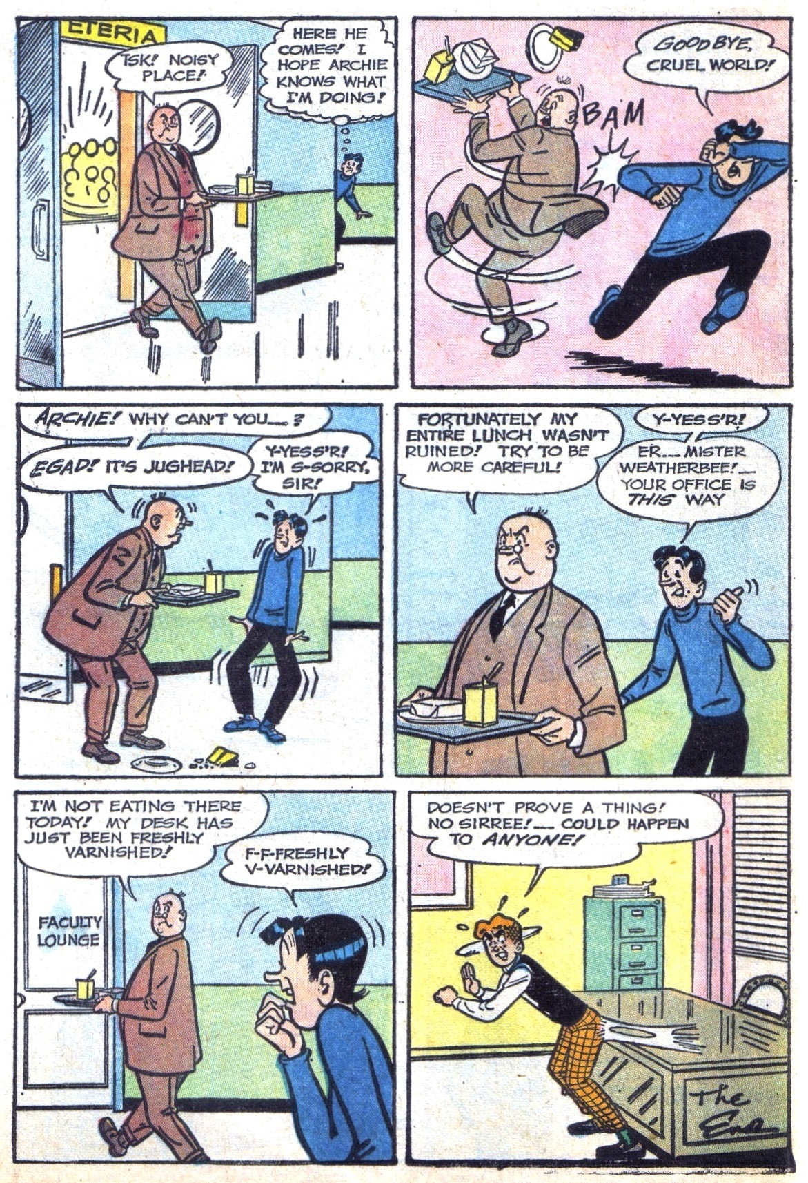 Read online Archie (1960) comic -  Issue #142 - 8