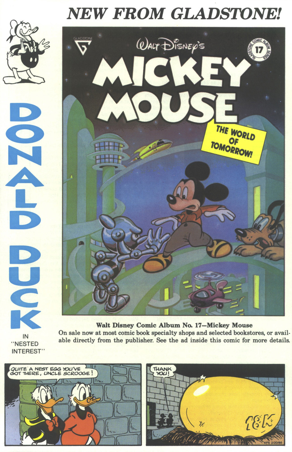 Read online Uncle Scrooge (1953) comic -  Issue #236 - 36