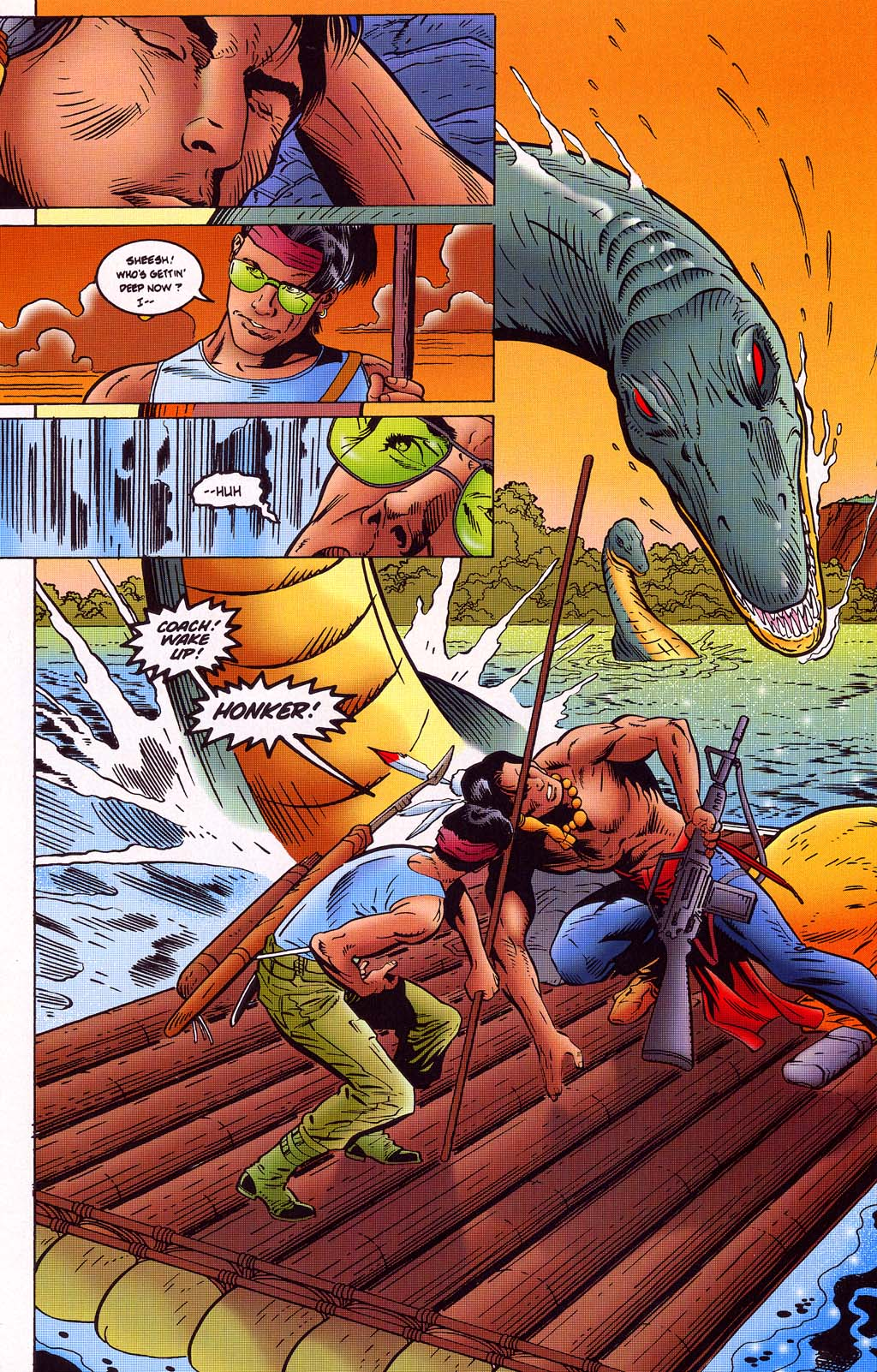 Read online Turok, Dinosaur Hunter (1993) comic -  Issue #45 - 11