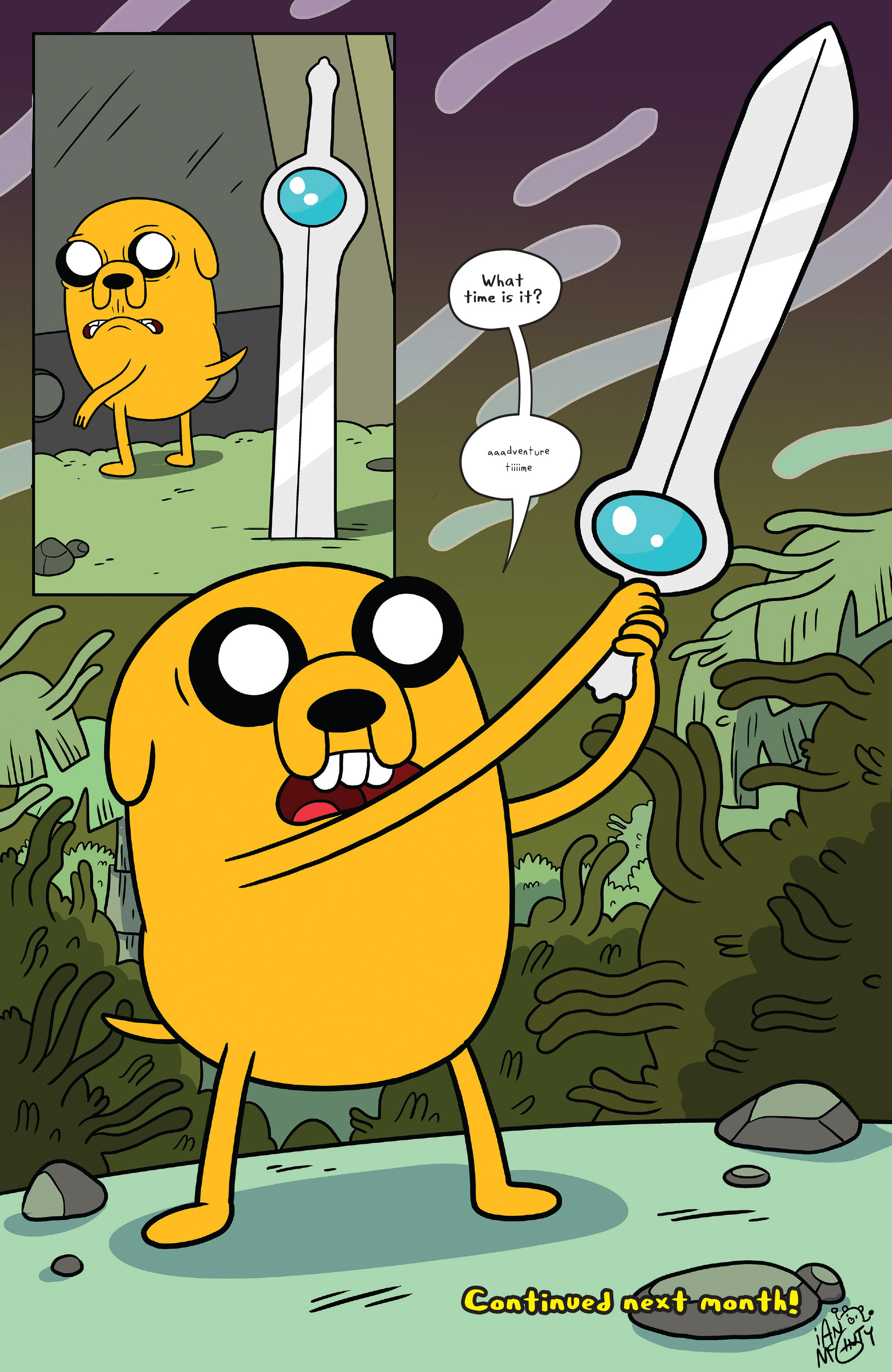 Read online Adventure Time comic -  Issue #51 - 24