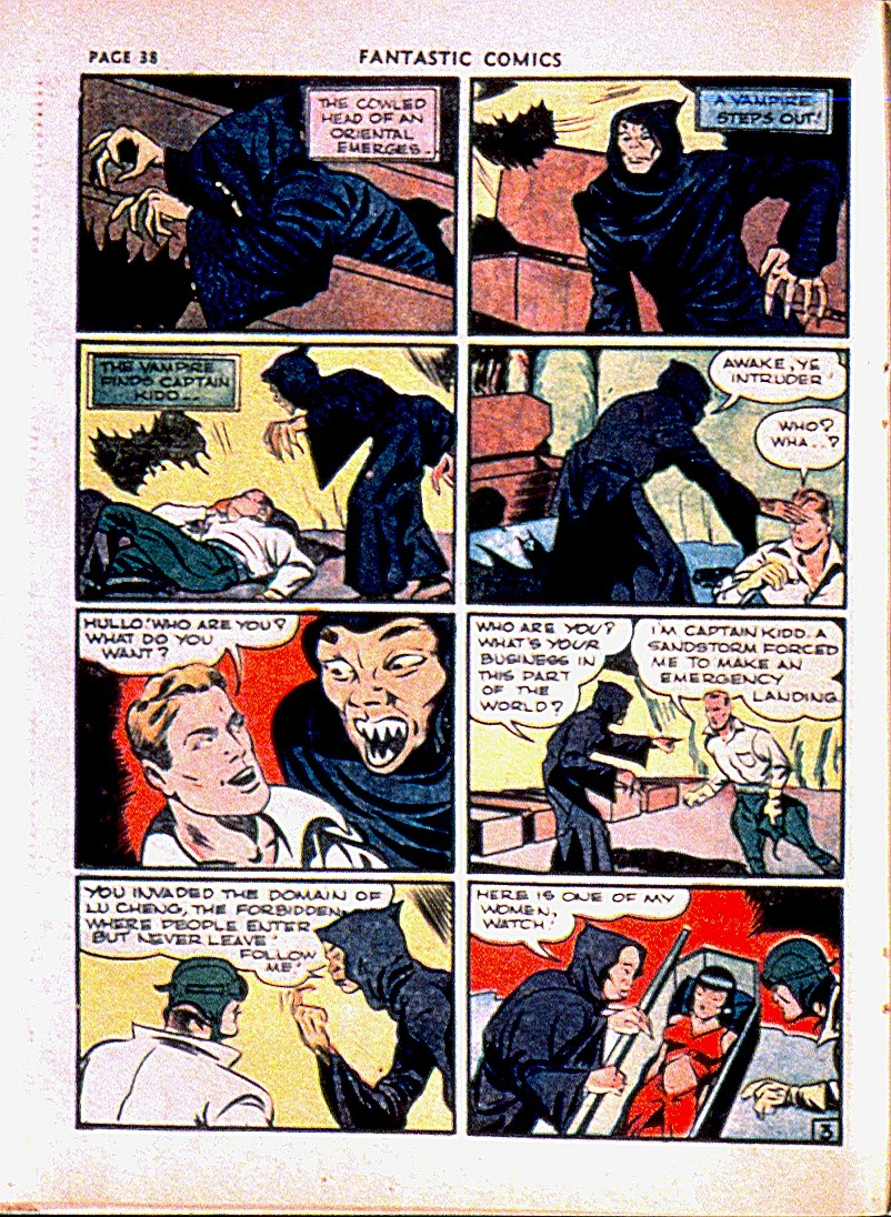 Fantastic Comics issue 13 - Page 41