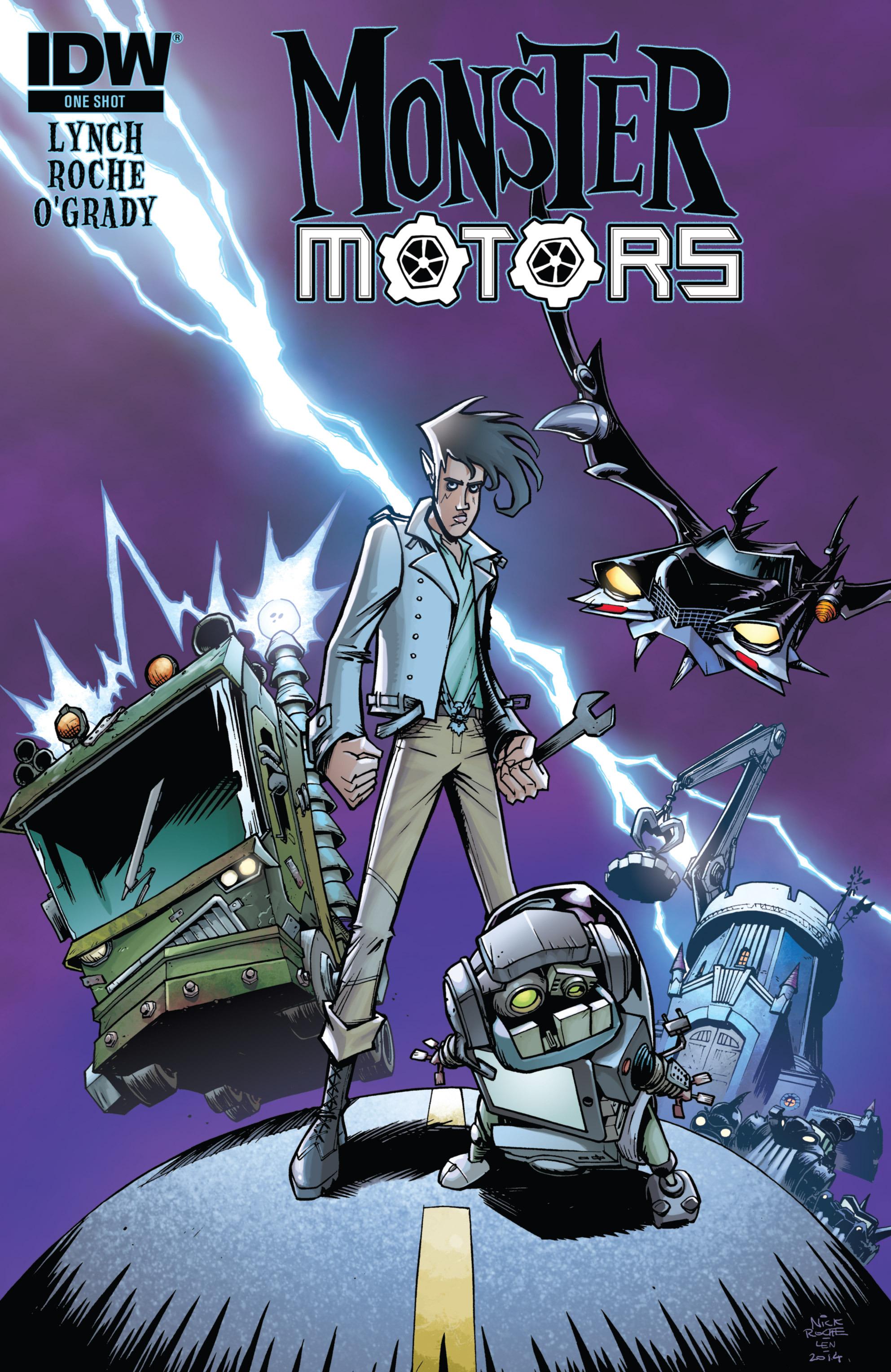 Read online Monster Motors comic -  Issue # Full - 1