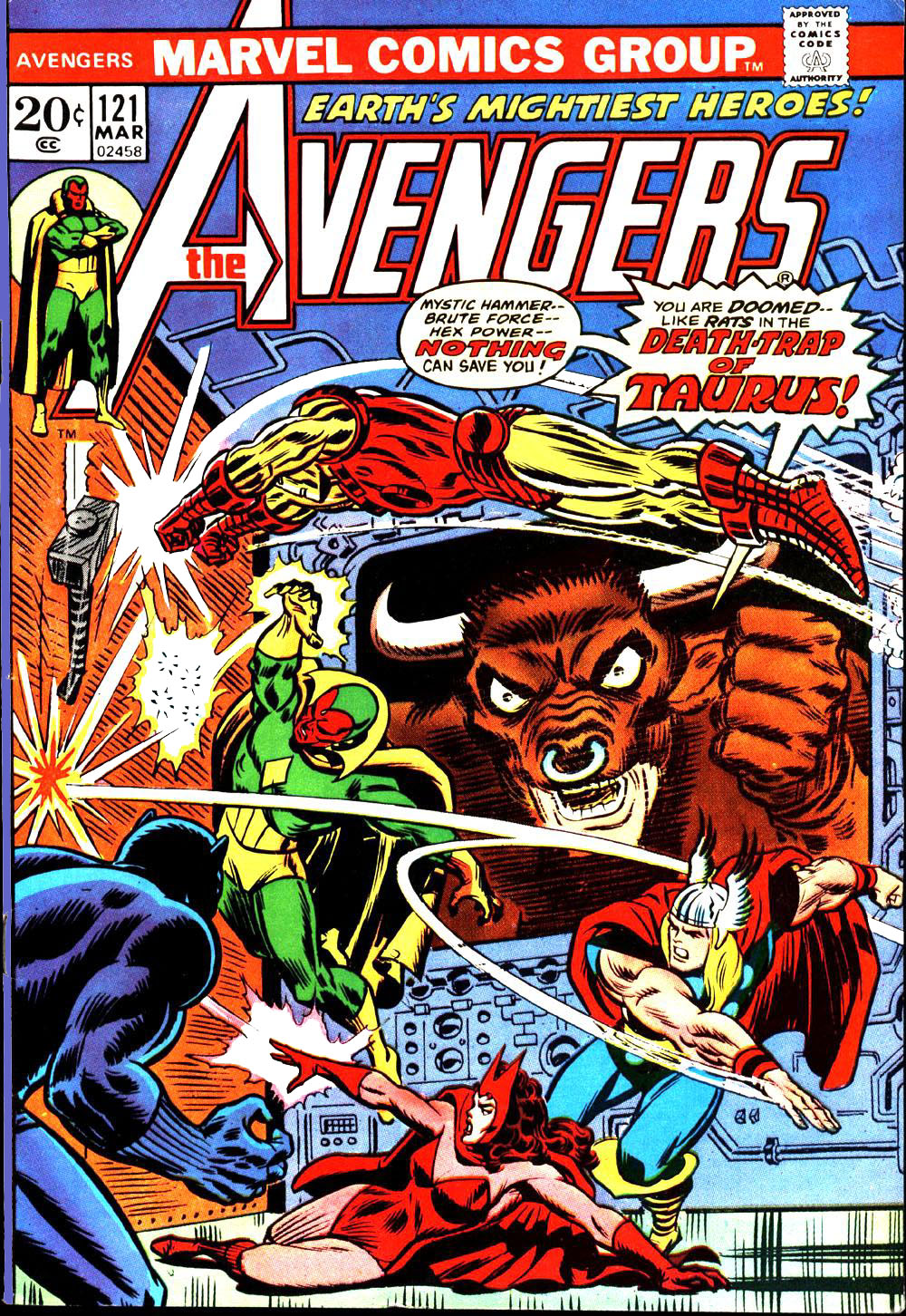 The Avengers (1963) 121 Page 1