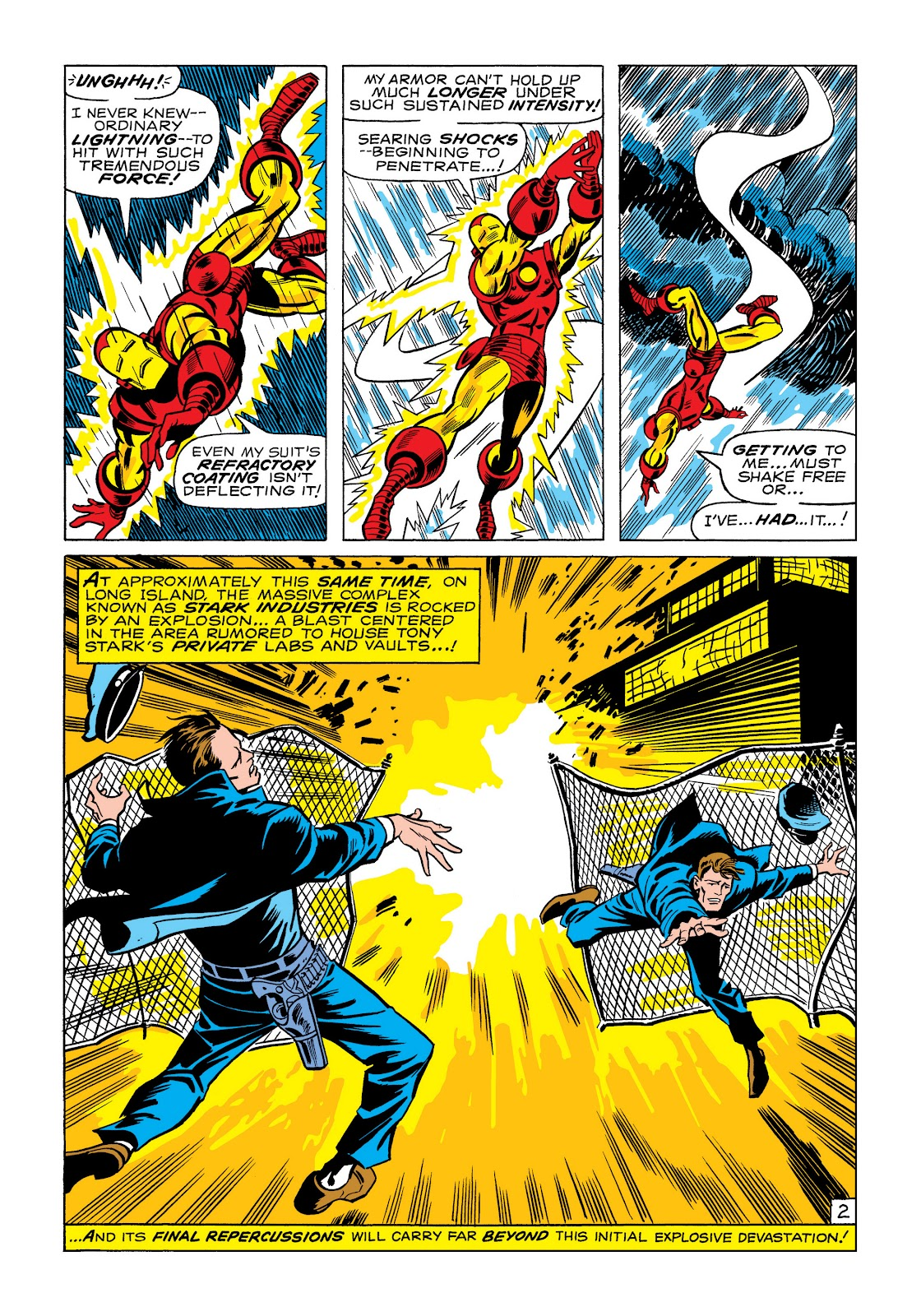 Read online Marvel Masterworks: The Invincible Iron Man comic -  Issue # TPB 6 (Part 1) - 71
