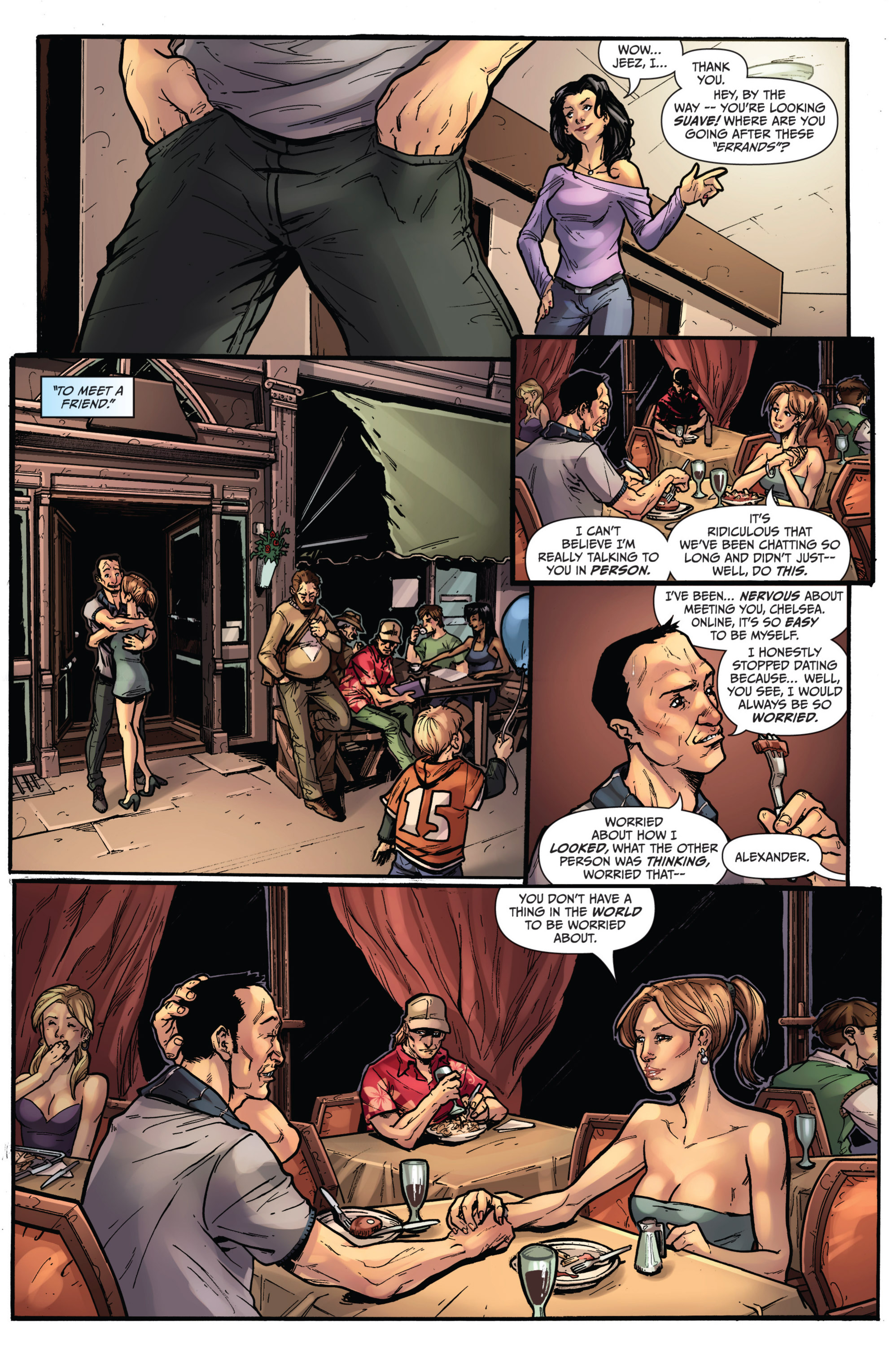 Read online Grimm Fairy Tales presents Grimm Universe comic -  Issue # TPB - 77