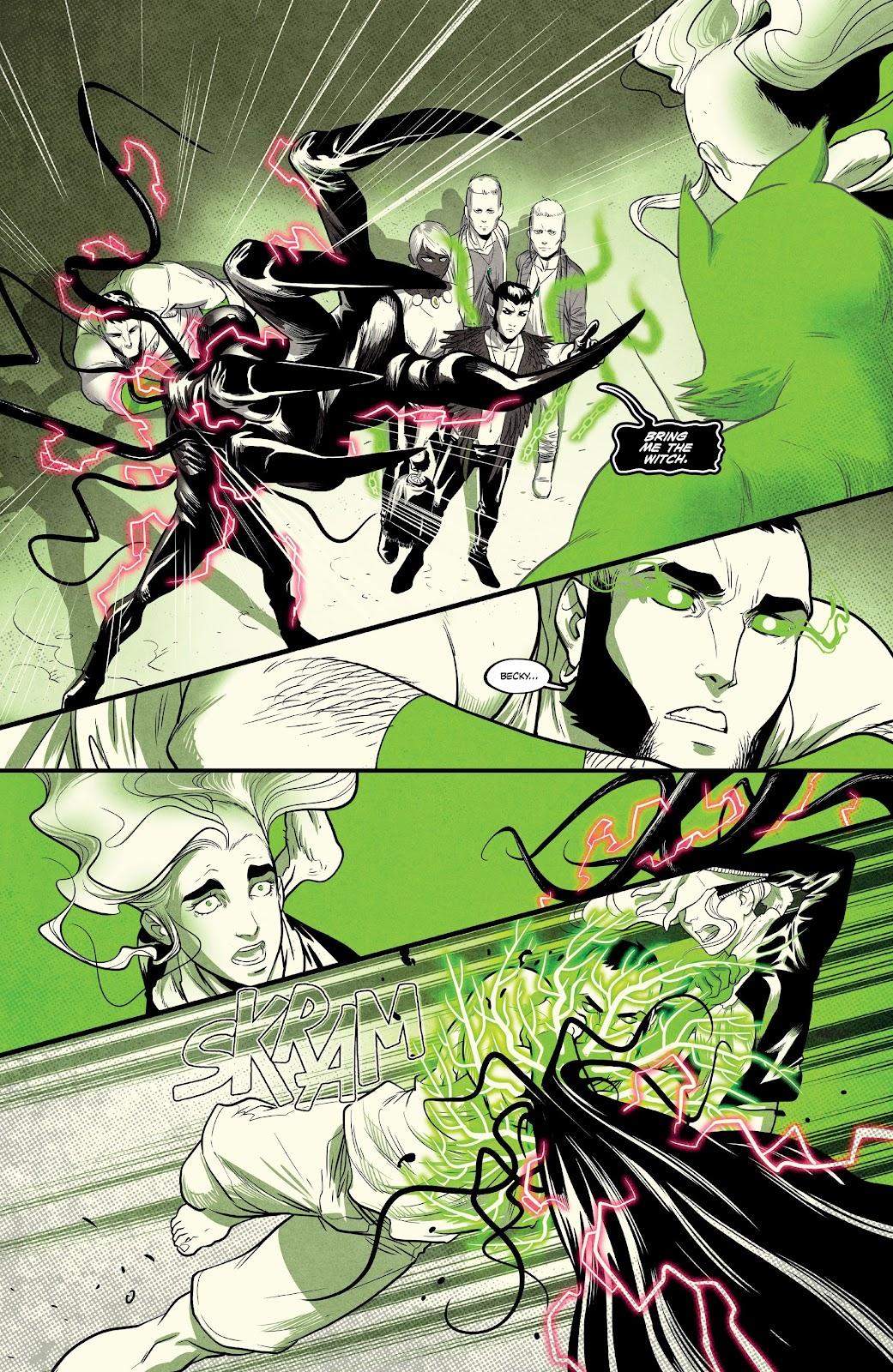 Read online Nomen Omen comic -  Issue #6 - 19