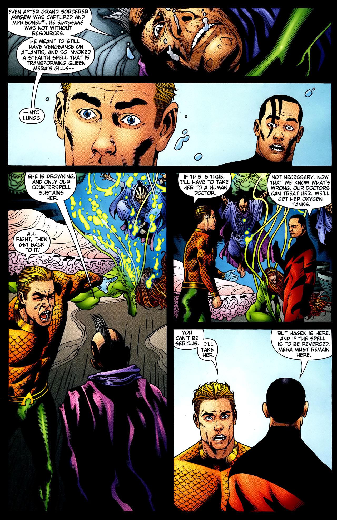 Read online Aquaman (2003) comic -  Issue #34 - 8