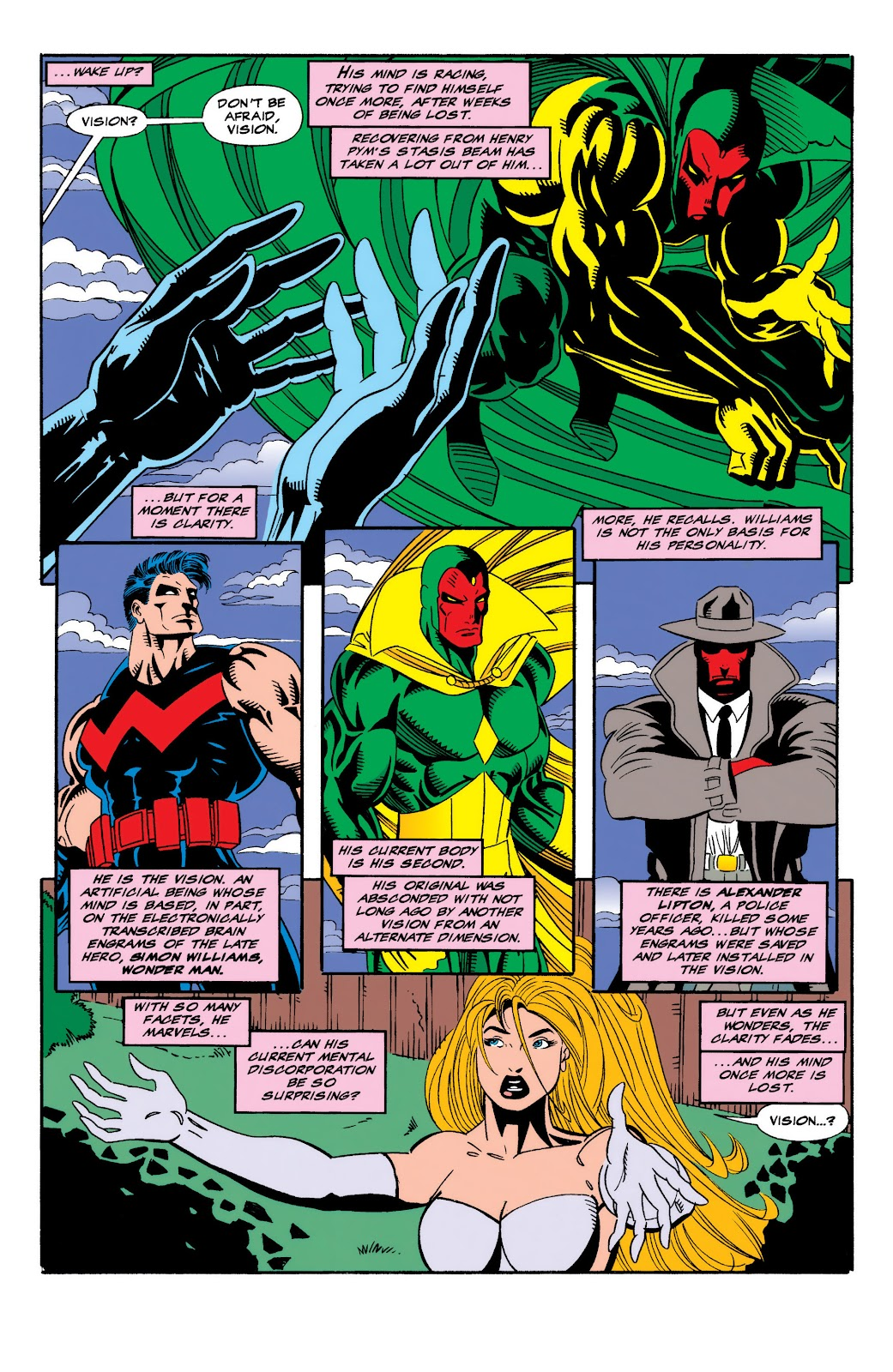 Read online The Vision comic -  Issue #3 - 12