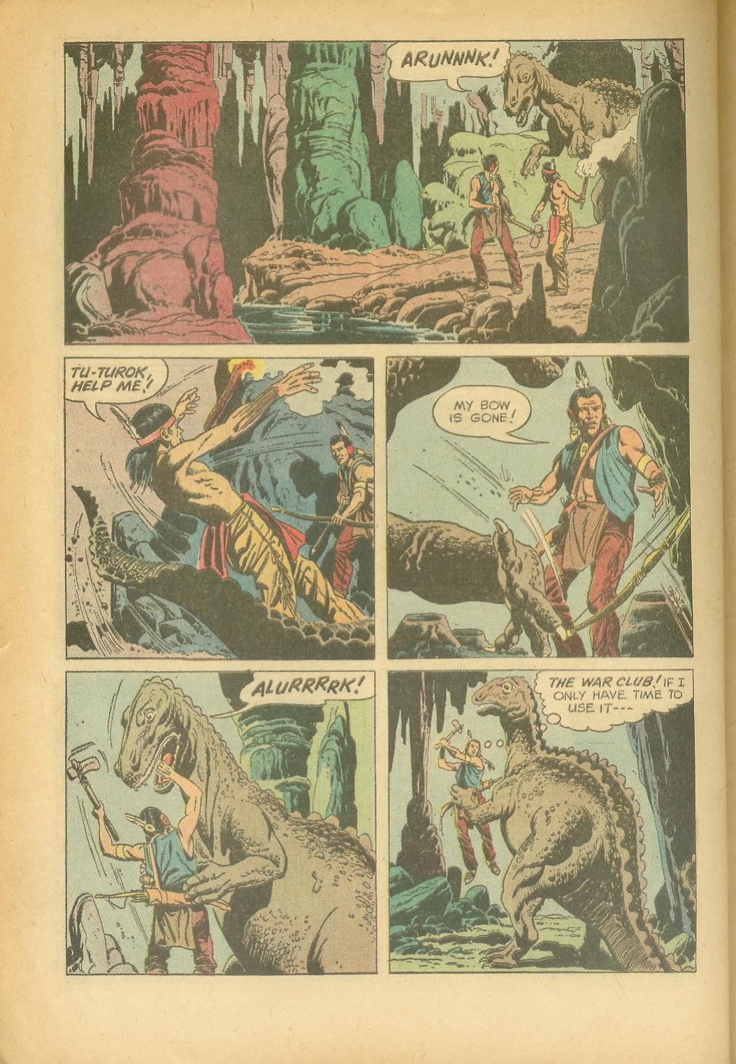 Read online Turok, Son of Stone comic -  Issue #24 - 32