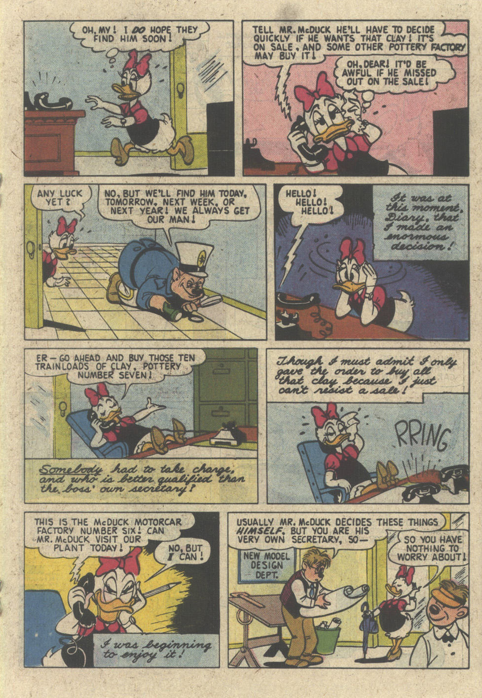 Read online Uncle Scrooge (1953) comic -  Issue #227 - 19