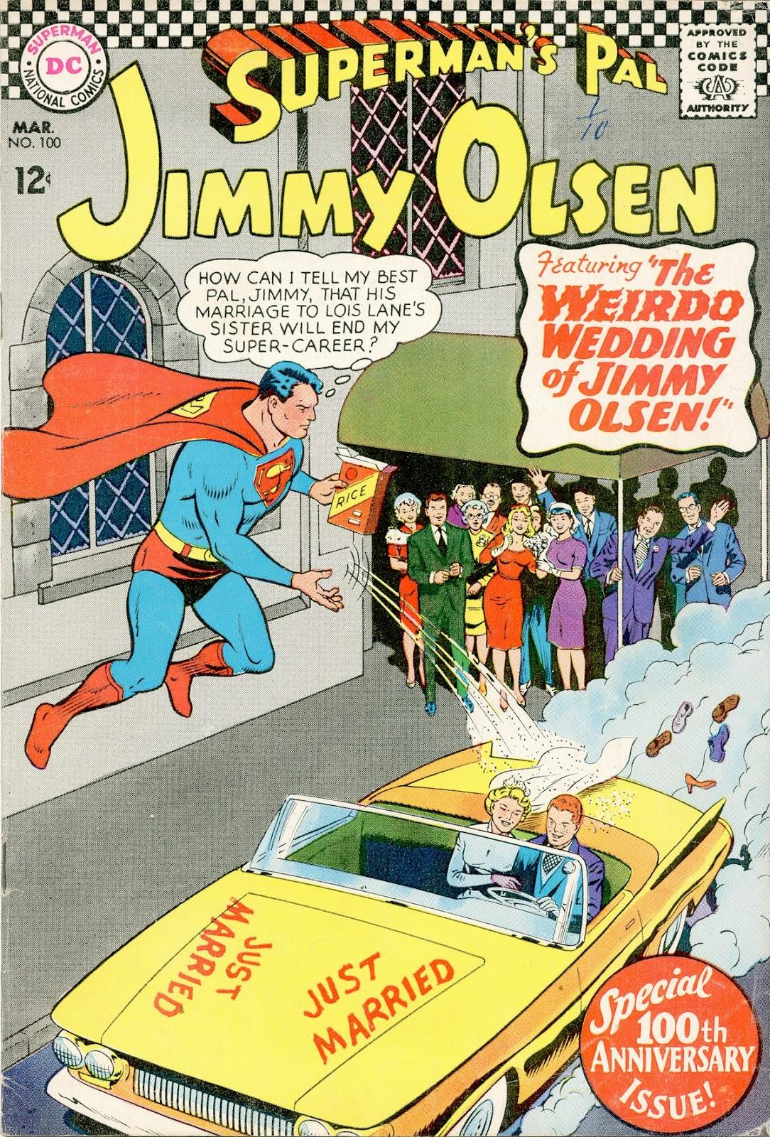Supermans Pal Jimmy Olsen (1954) 100 Page 1