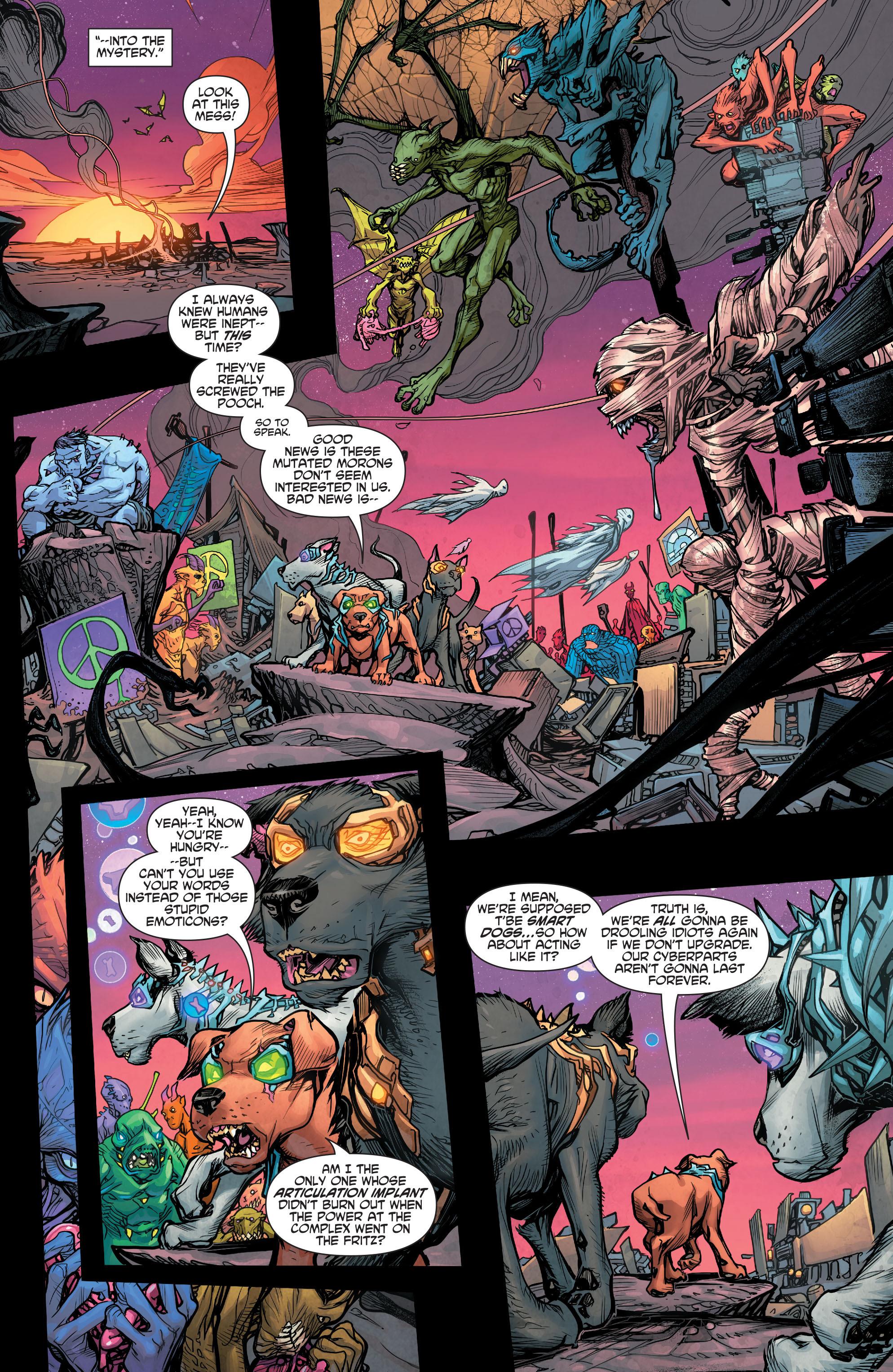 Read online Scooby Apocalypse comic -  Issue #4 - 17