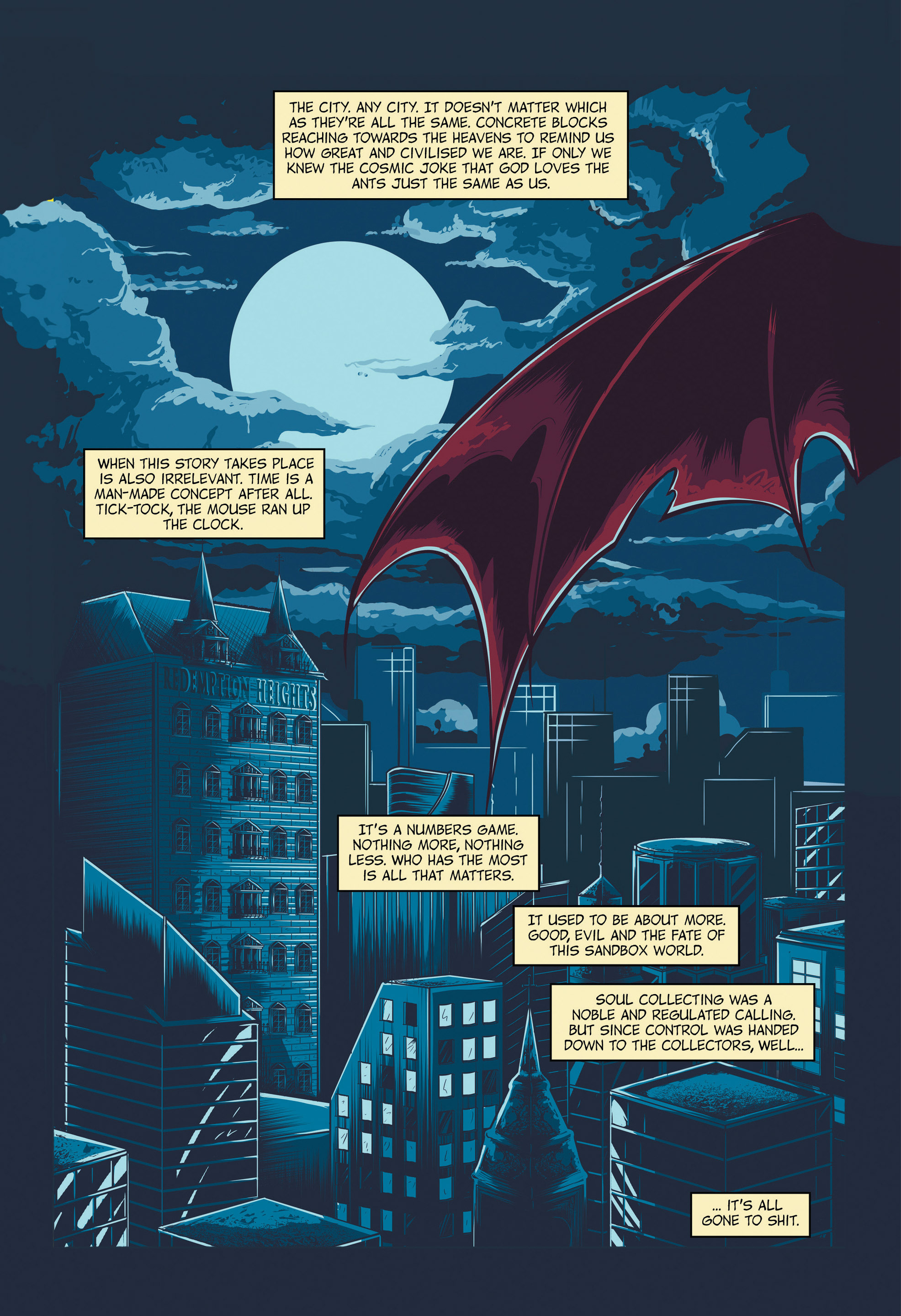 Read online Redemption Heights comic -  Issue # Full - 7