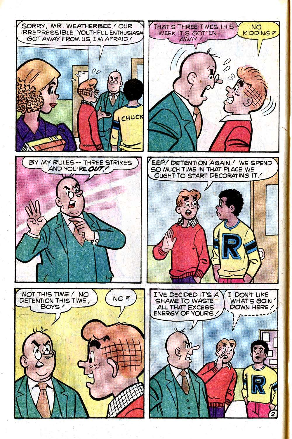 Read online Archie (1960) comic -  Issue #276 - 4