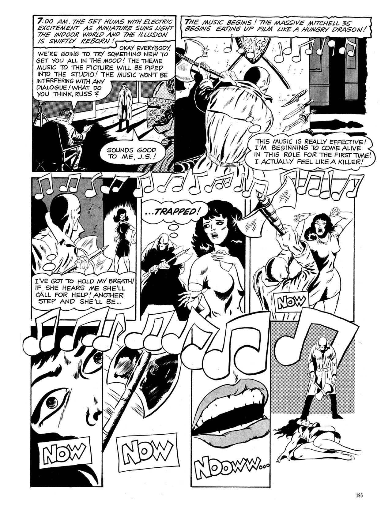 Read online Eerie Archives comic -  Issue # TPB 5 - 196