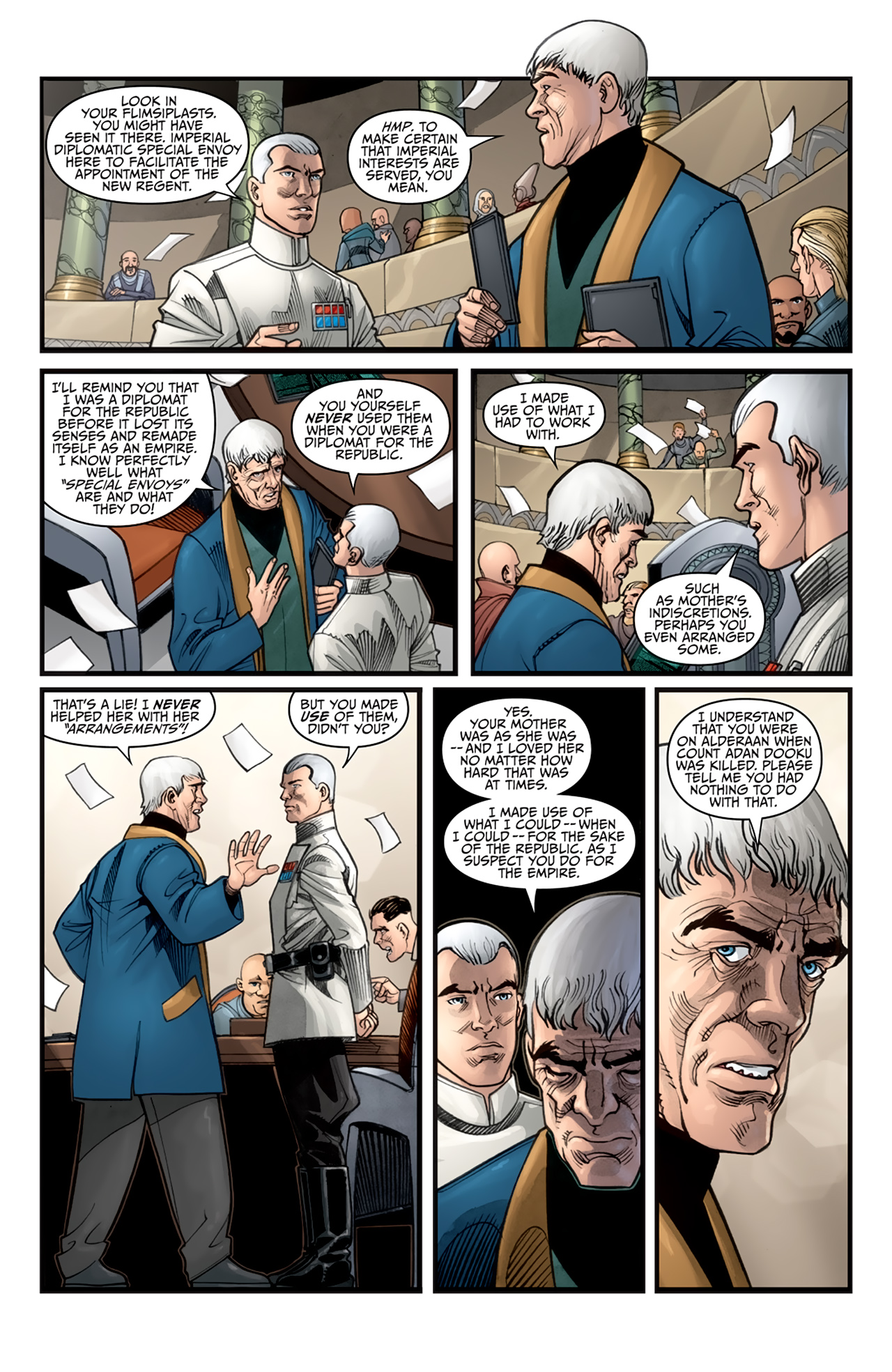 Read online Star Wars: Agent Of The Empire - Hard Targets comic -  Issue #2 - 5