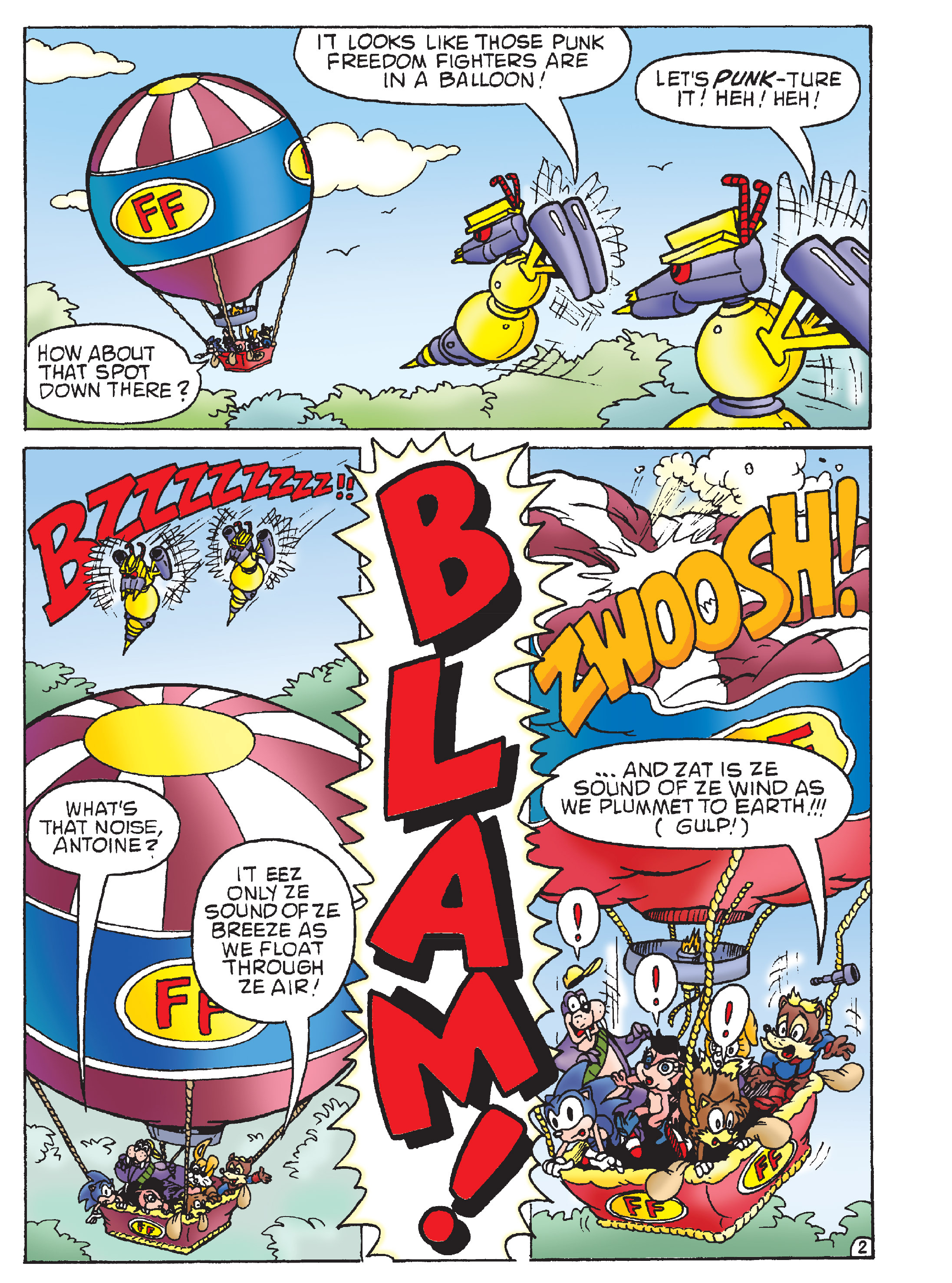 Read online Sonic Super Digest comic -  Issue #8 - 9