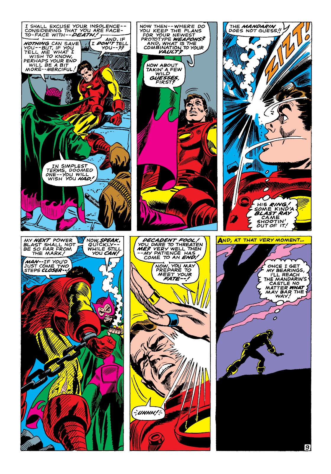 Read online Marvel Masterworks: The Invincible Iron Man comic -  Issue # TPB 4 (Part 1) - 28