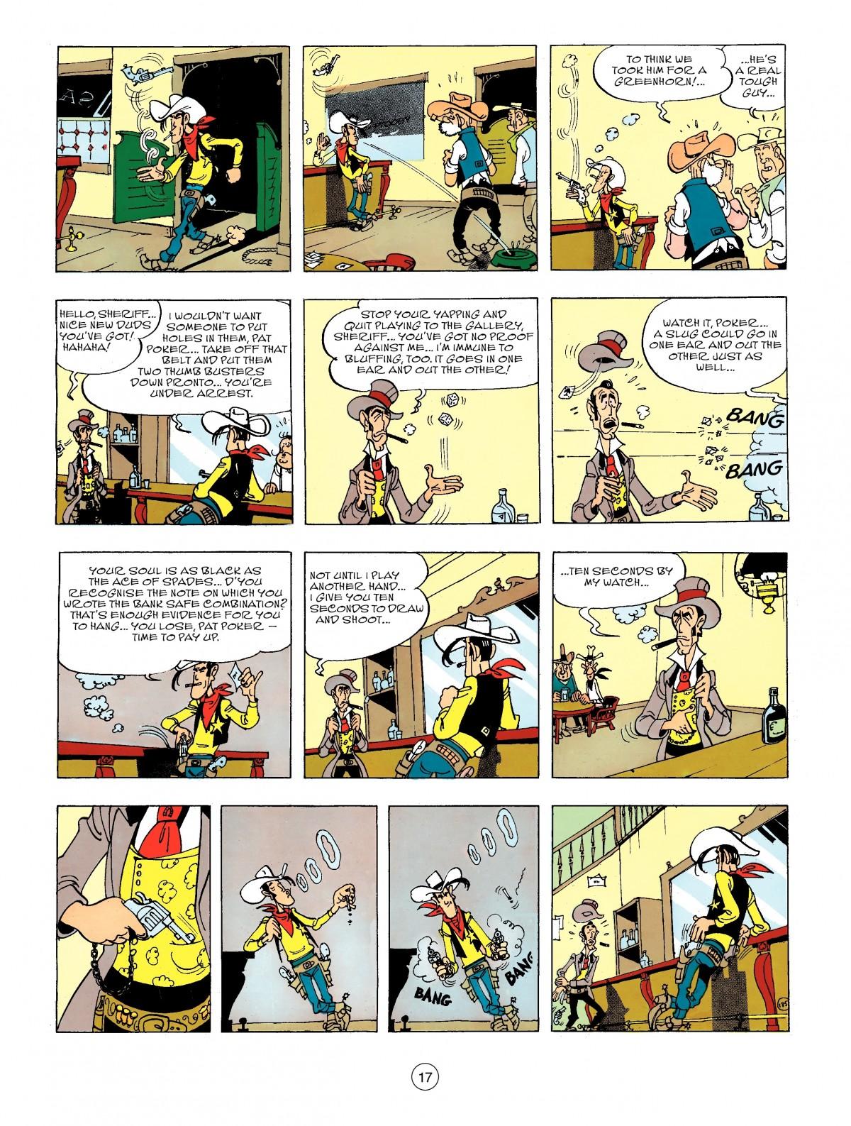 Read online A Lucky Luke Adventure comic -  Issue #44 - 17