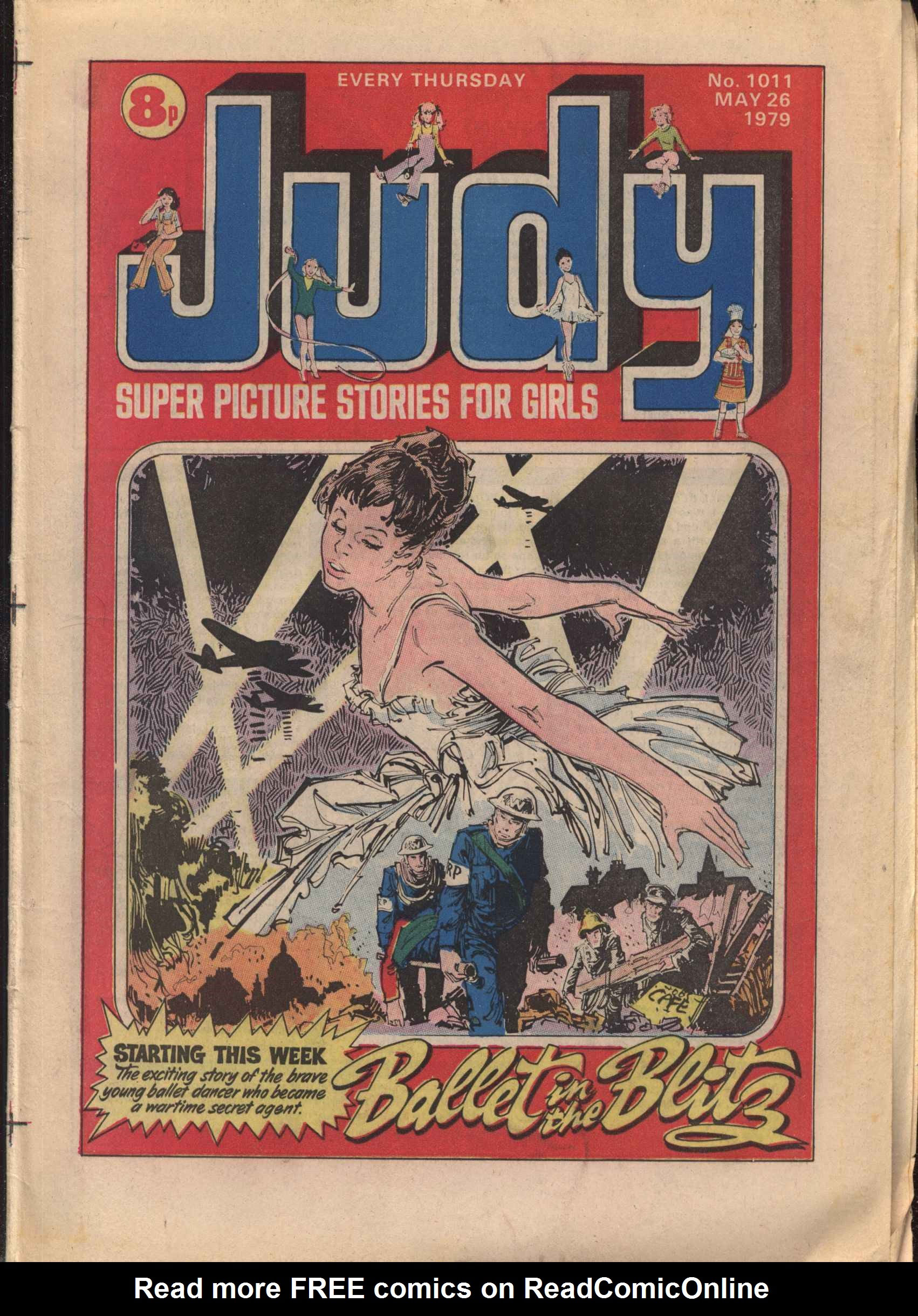 Read online Judy comic -  Issue #11 - 1