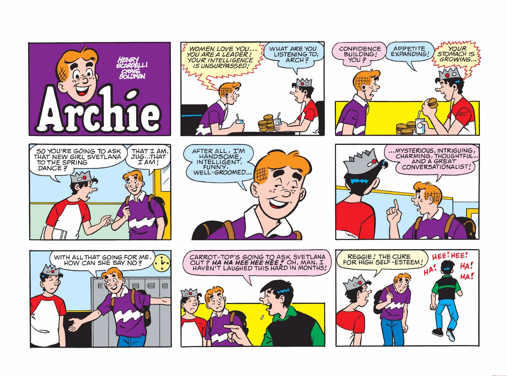 Read online Archie 1000 Page Comics Bonanza comic -  Issue #3 (Part 1) - 128