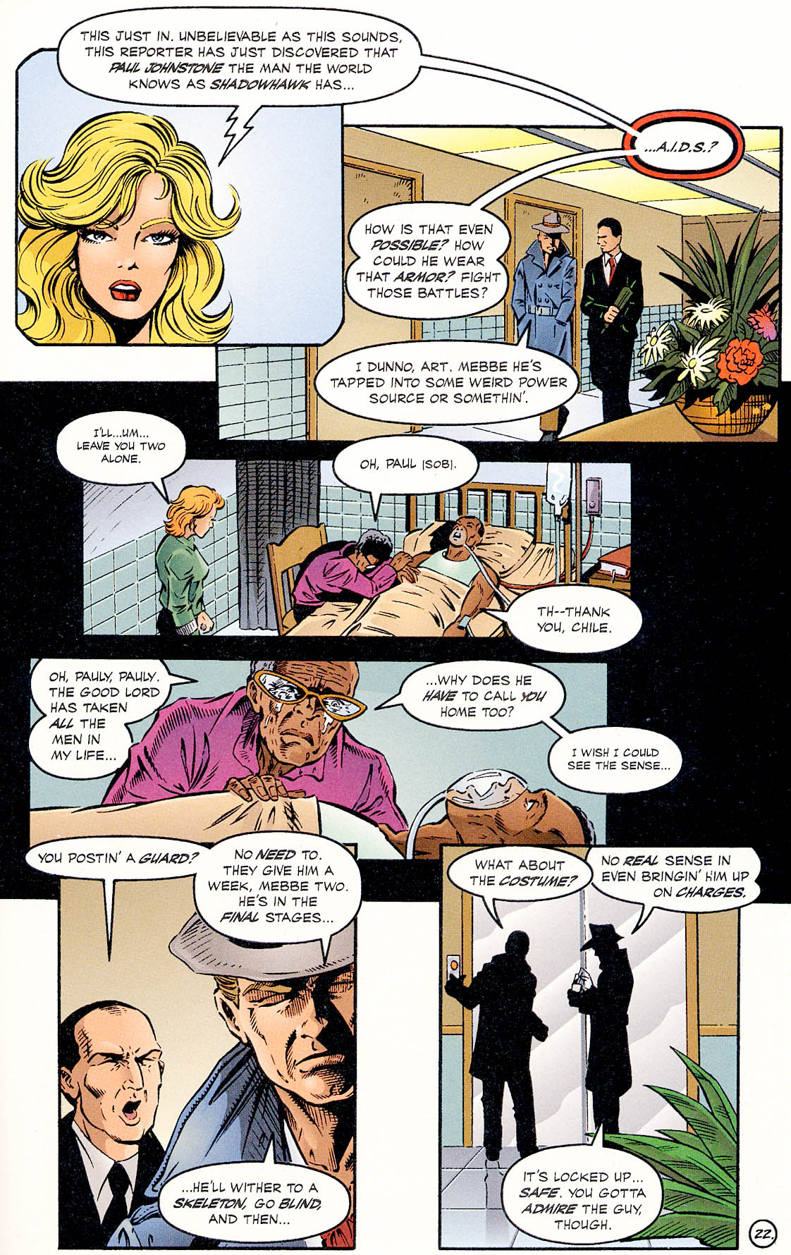 Read online ShadowHawk comic -  Issue #18 - 22