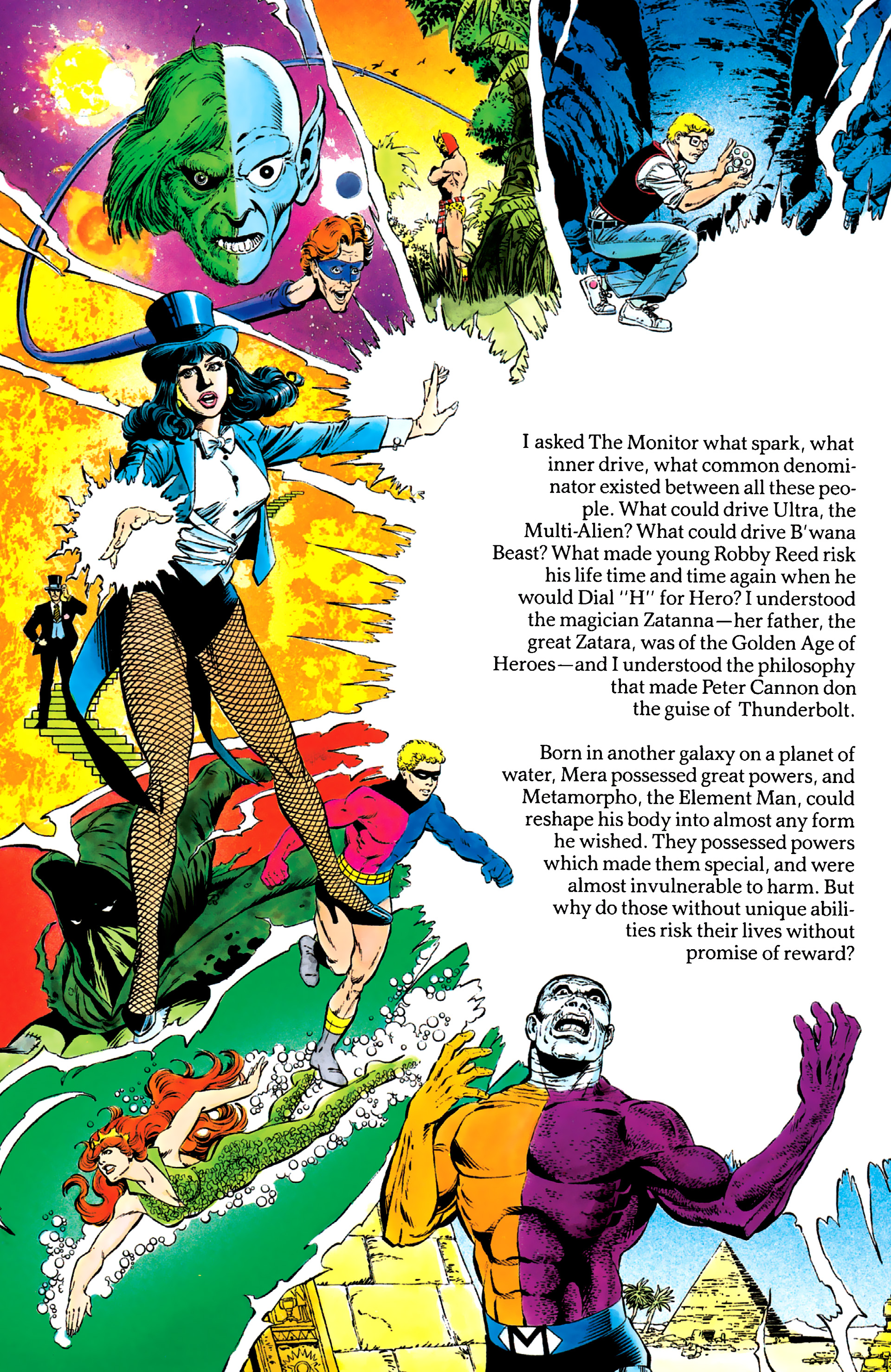 Read online History of the DC Universe comic -  Issue #2 - 21