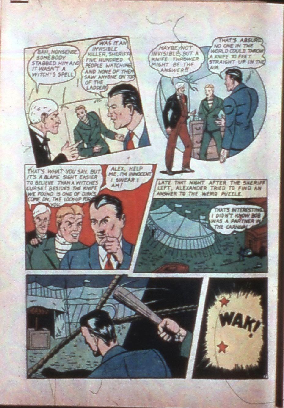 Read online Super-Magician Comics comic -  Issue #7 - 53
