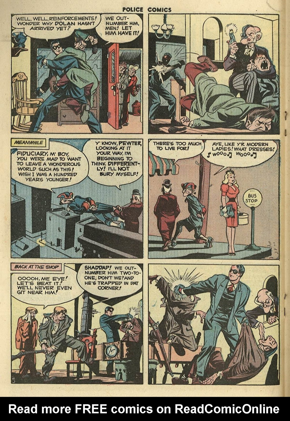 Police Comics issue 100 - Page 18