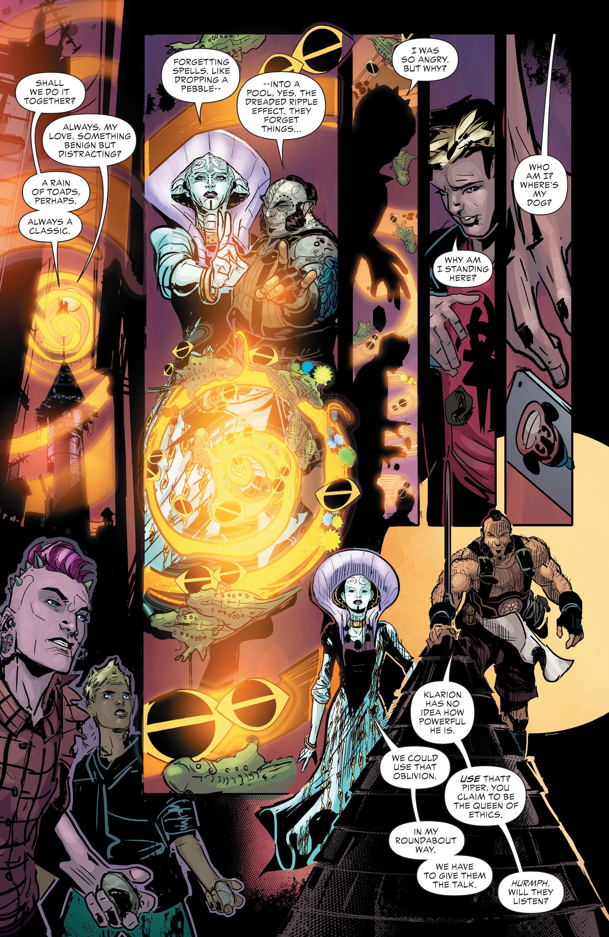 Read online Klarion comic -  Issue #2 - 6
