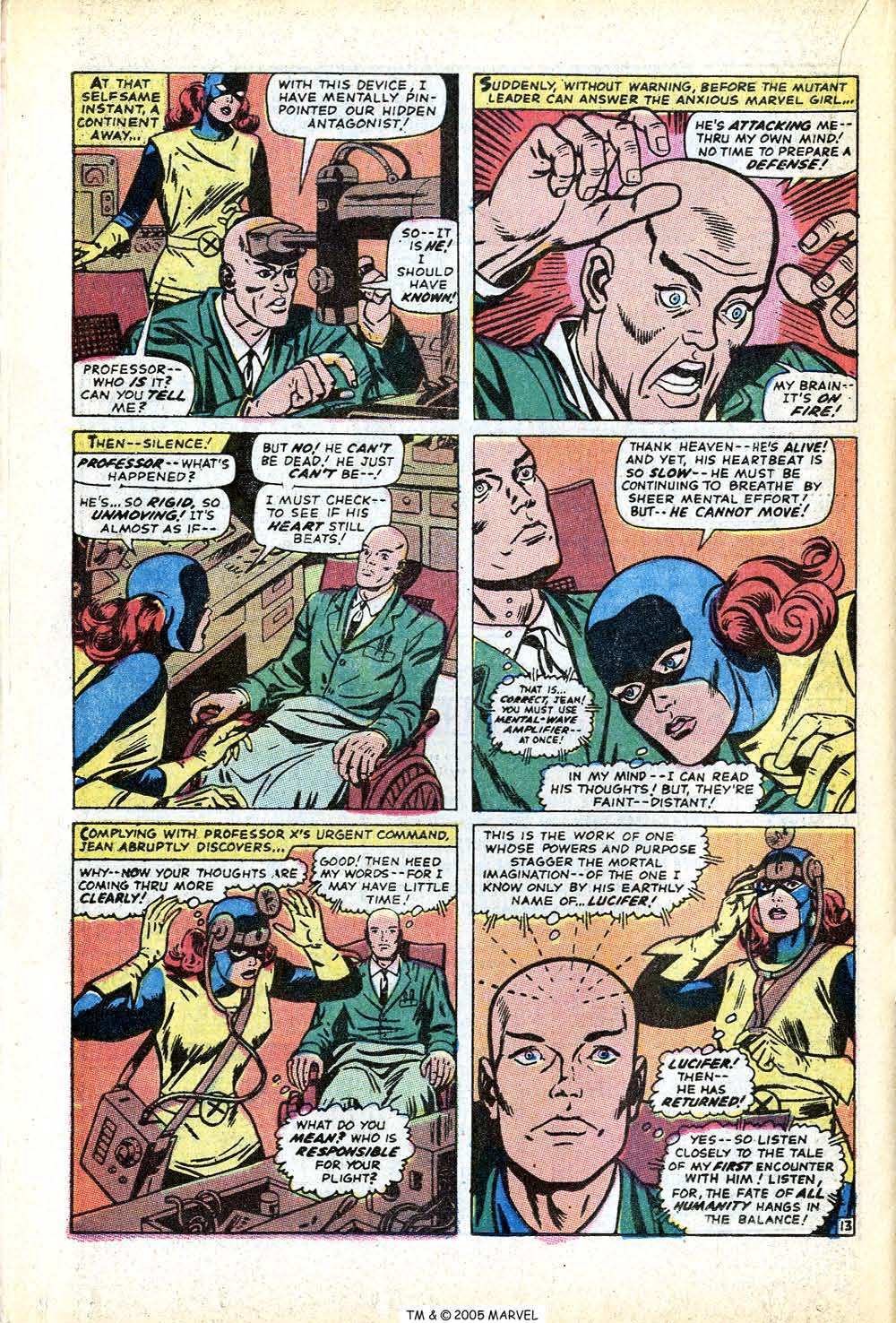 Uncanny X-Men (1963) issue 71 - Page 20