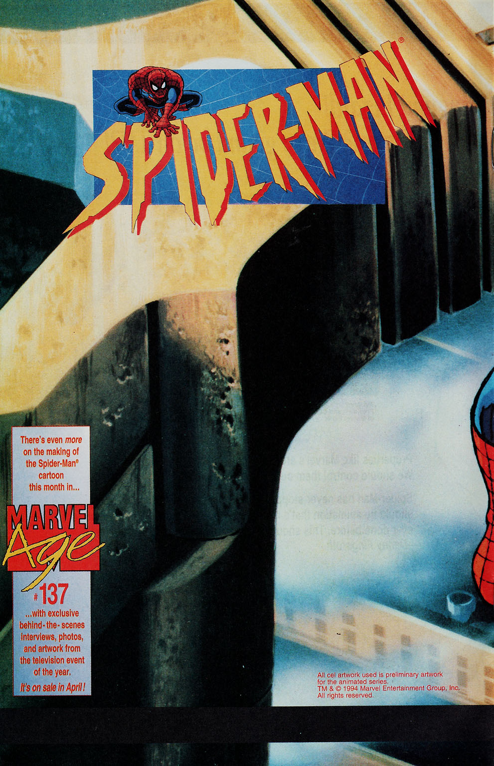 Web of Spider-Man (1985) Issue #113 #123 - English 50