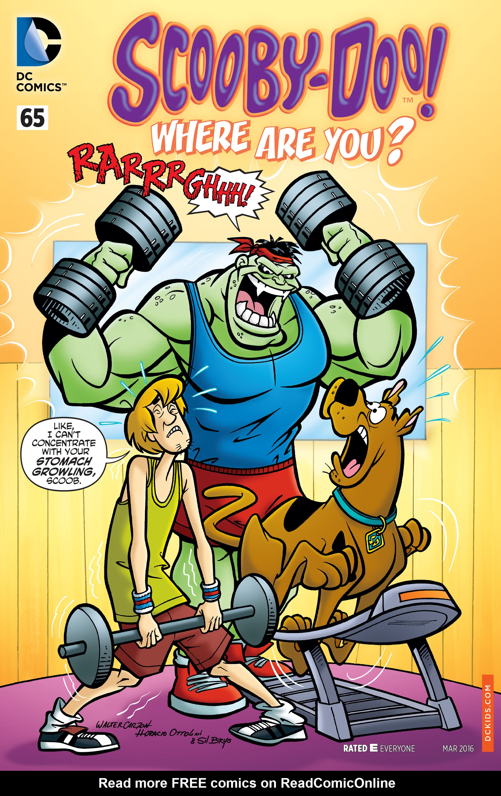 Read online Scooby-Doo: Where Are You? comic -  Issue #65 - 1