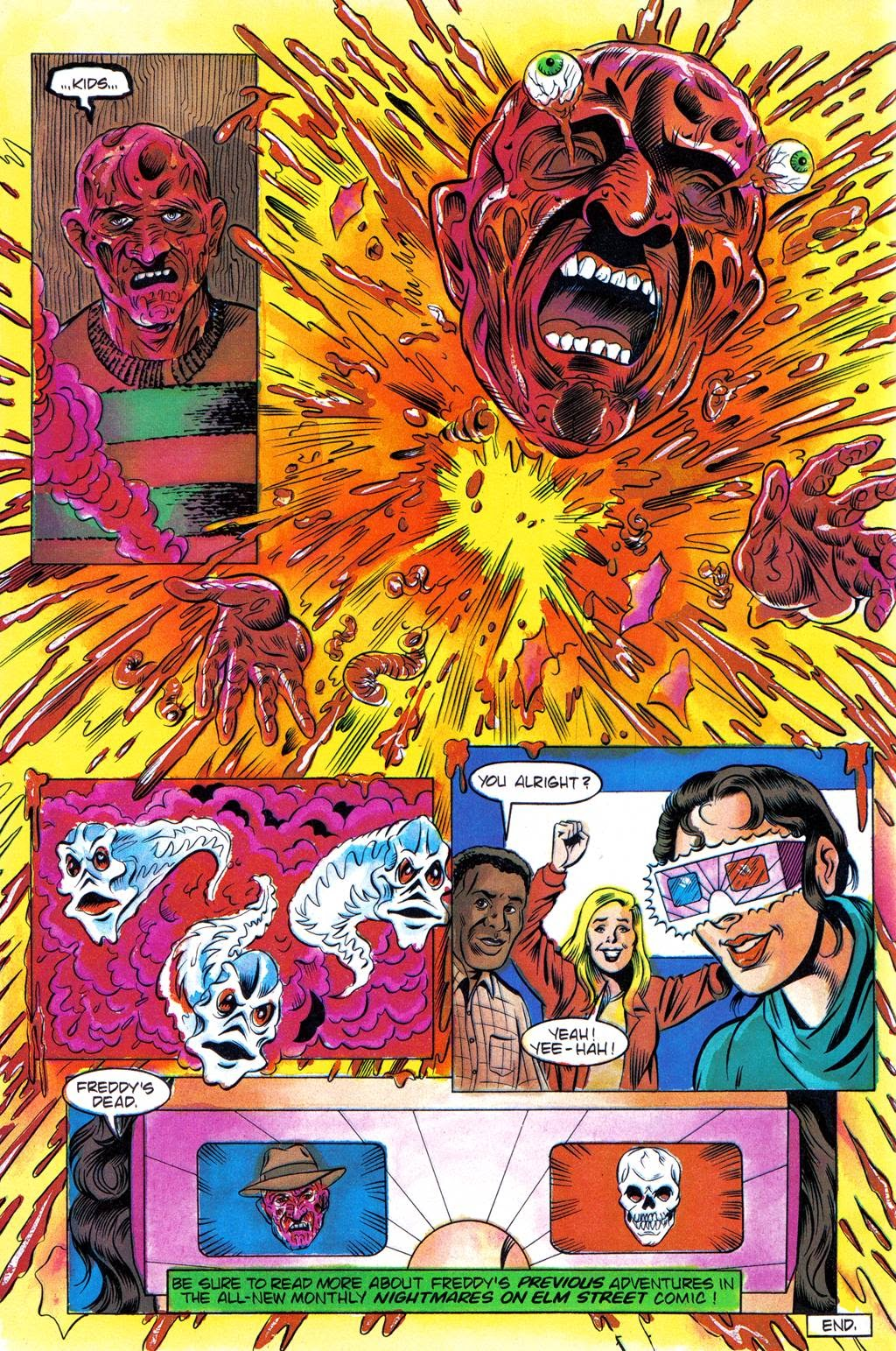 Read online Freddy's Dead: The Final Nightmare comic -  Issue #3 - 27