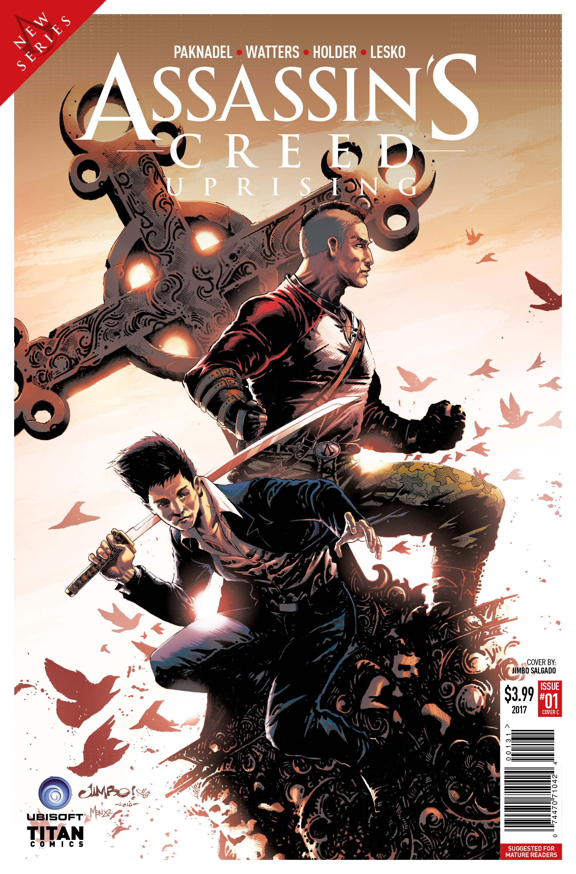 Read online Assassin's Creed: Uprising comic -  Issue #1 - 3