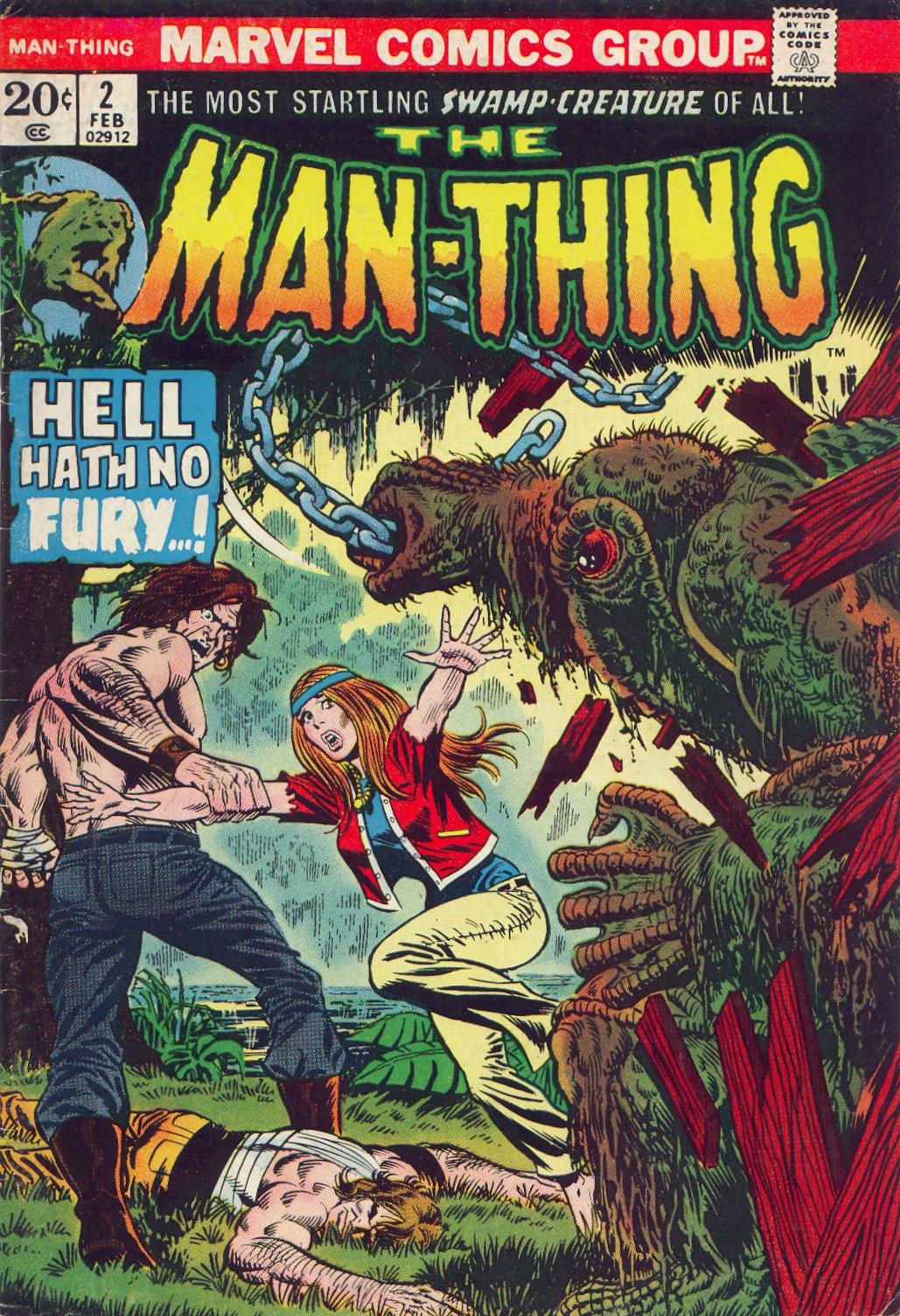 Man-Thing (1974) 2 Page 1