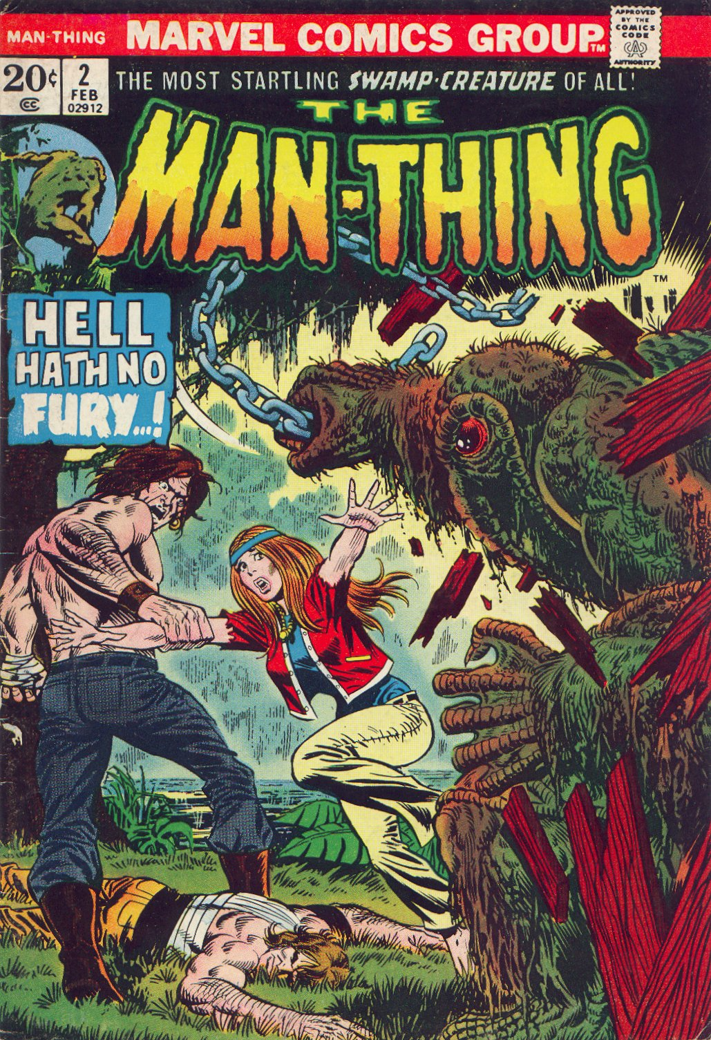 Man-Thing (1974) issue 2 - Page 1