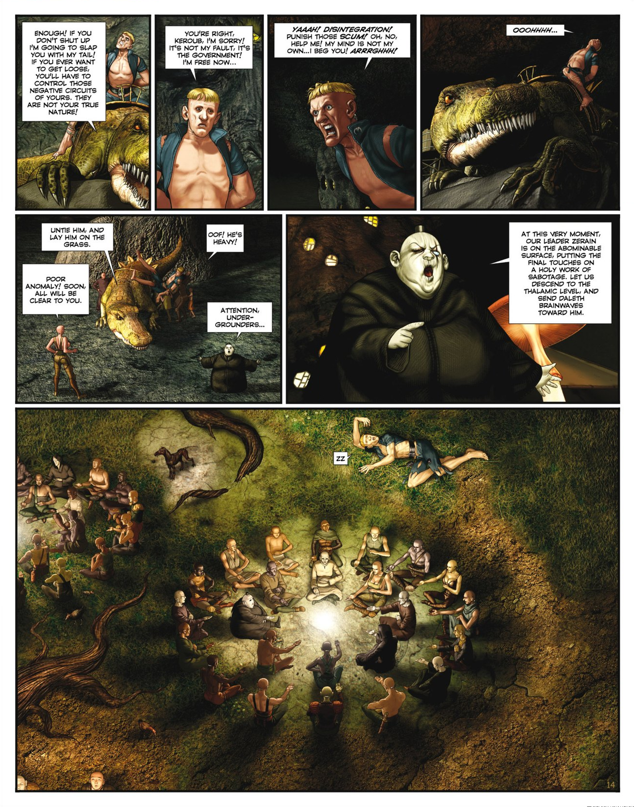 Read online Megalex (2014) comic -  Issue #2 - 16