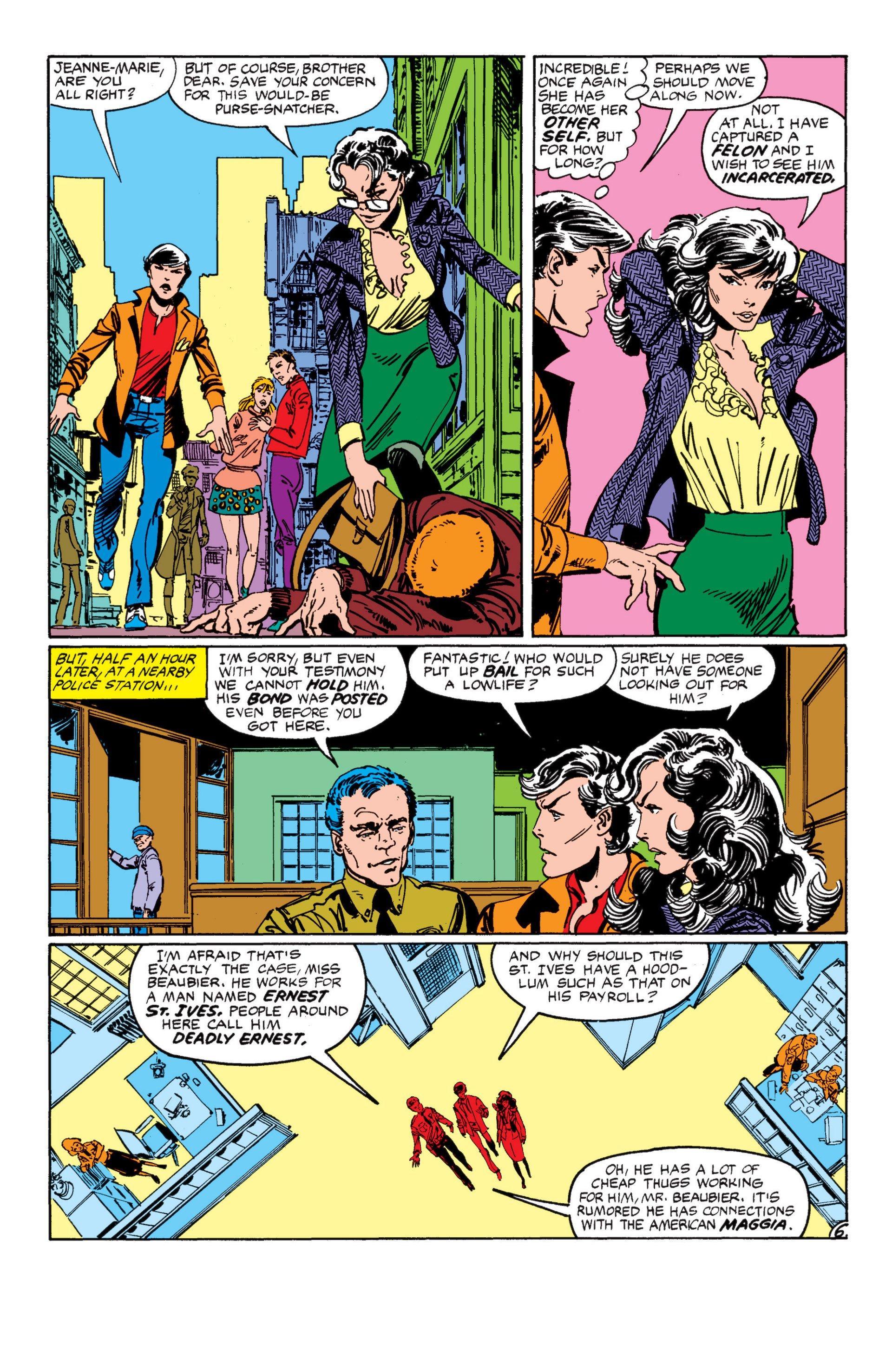 Read online Alpha Flight (1983) comic -  Issue #7 - 7