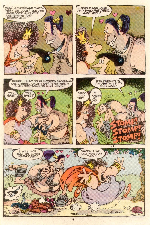 Read online Sergio Aragonés Groo the Wanderer comic -  Issue #36 - 9